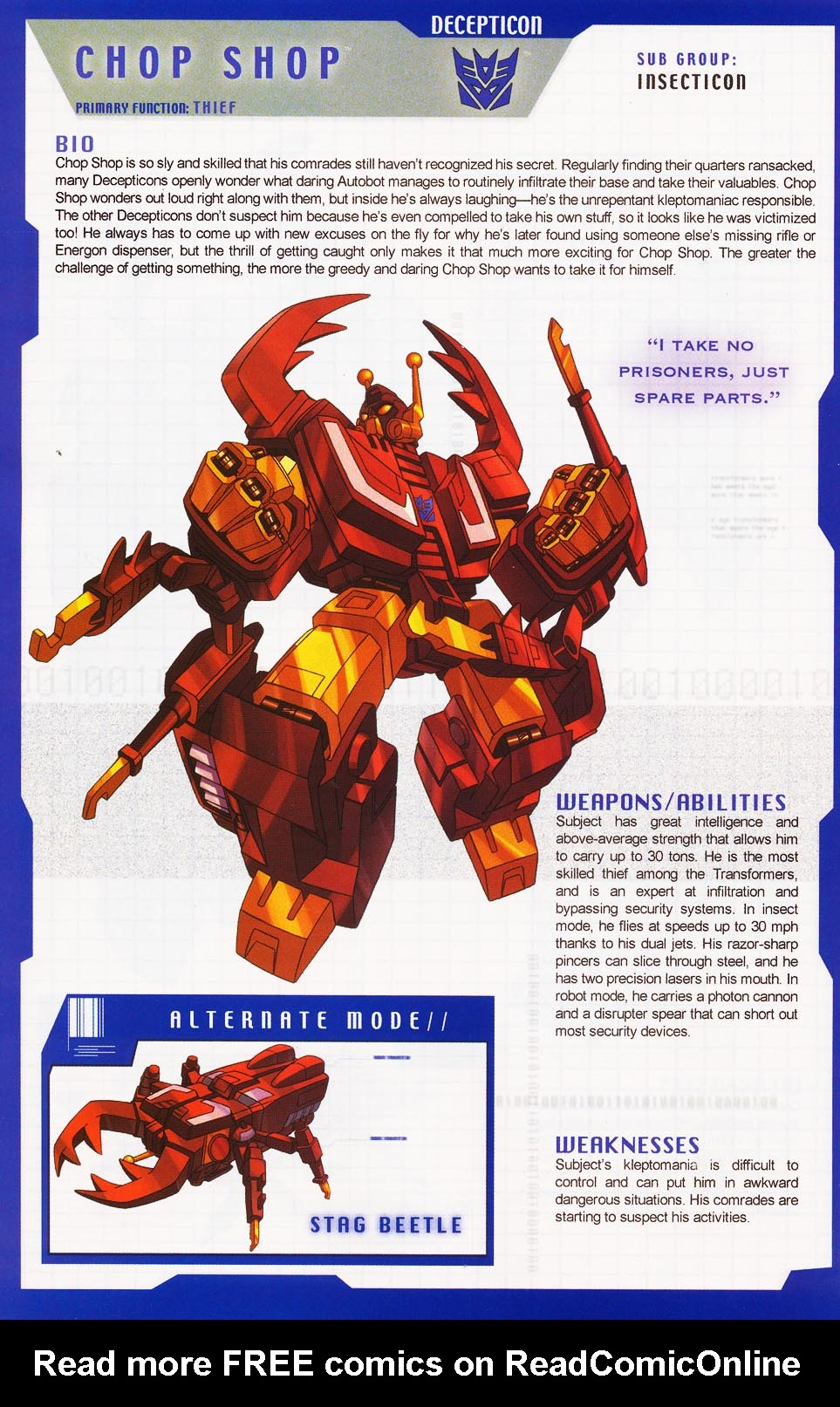 Read online Transformers: More than Meets the Eye comic -  Issue #3 - 42