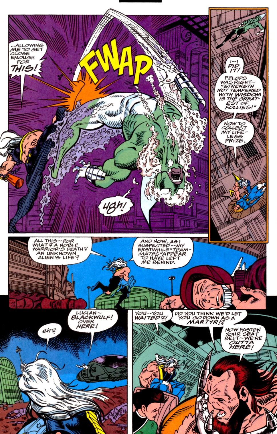Read online Blackwulf comic -  Issue #4 - 11
