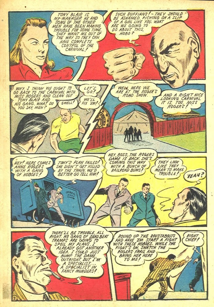 Read online Amazing Man Comics comic -  Issue #25 - 34