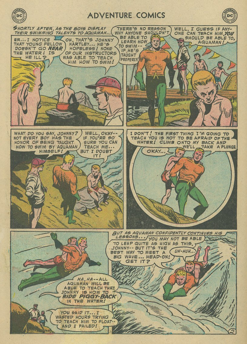 Read online Adventure Comics (1938) comic -  Issue #221 - 17