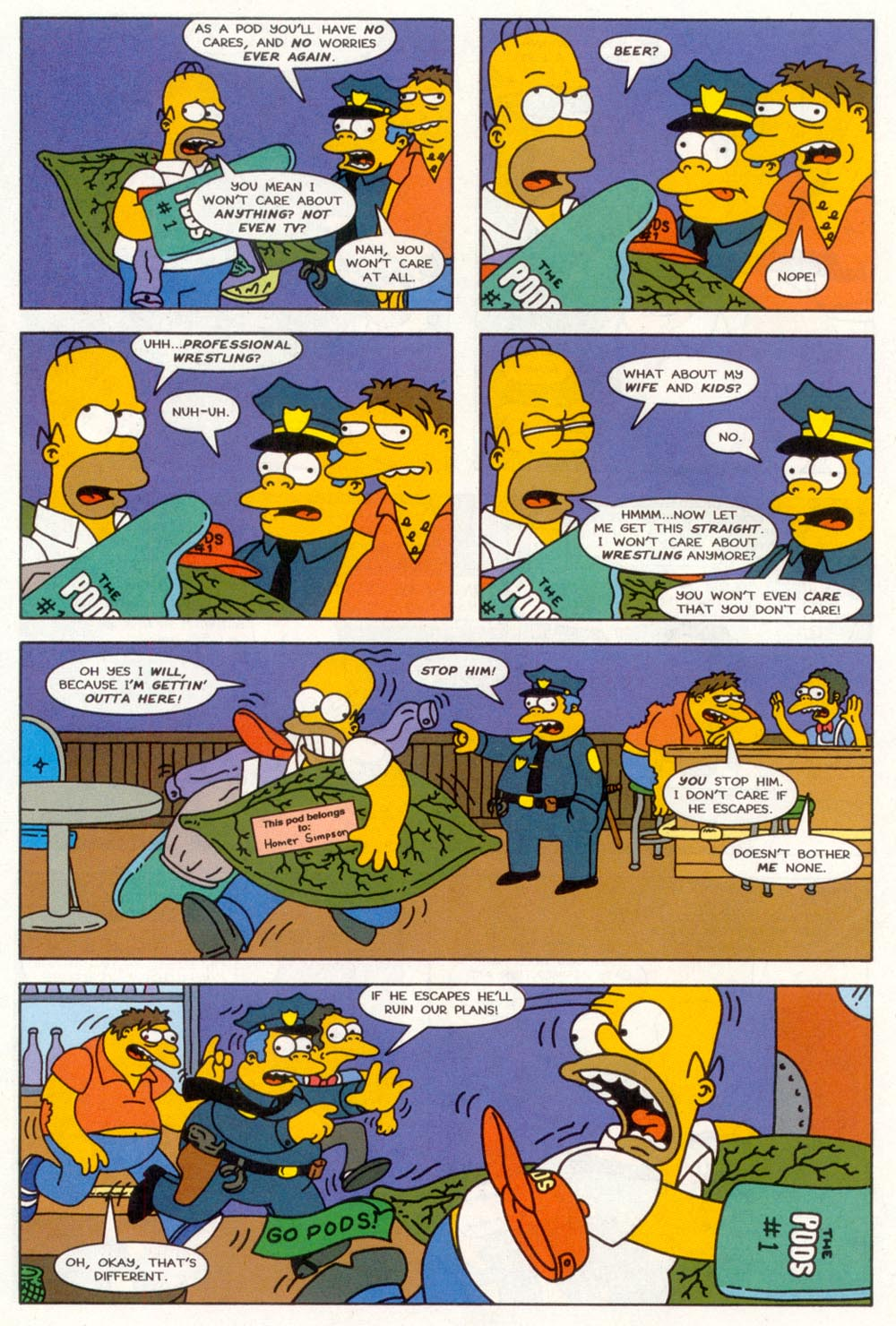 Read online Treehouse of Horror comic -  Issue #3 - 11