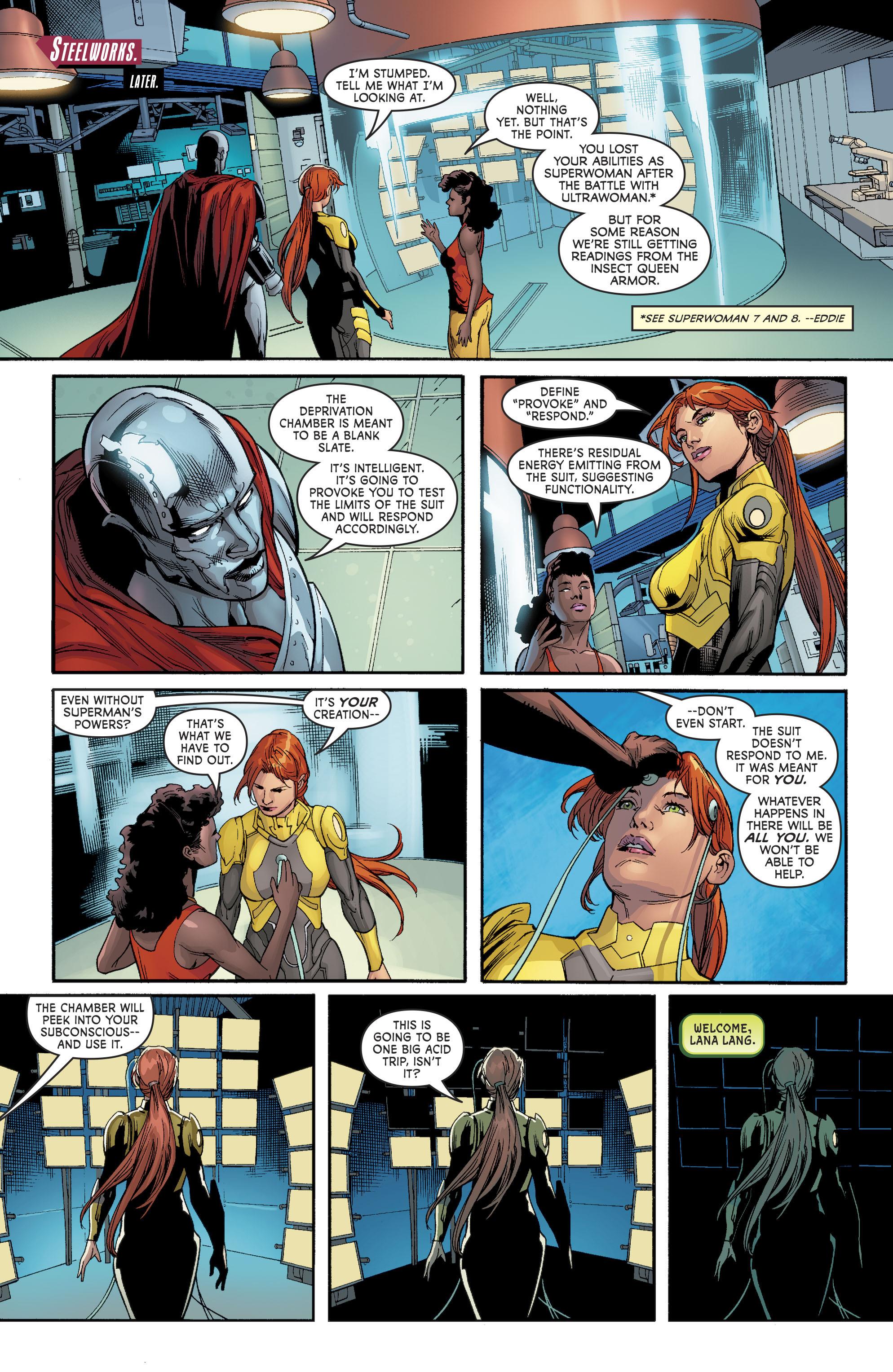 Read online Superwoman comic -  Issue #10 - 11