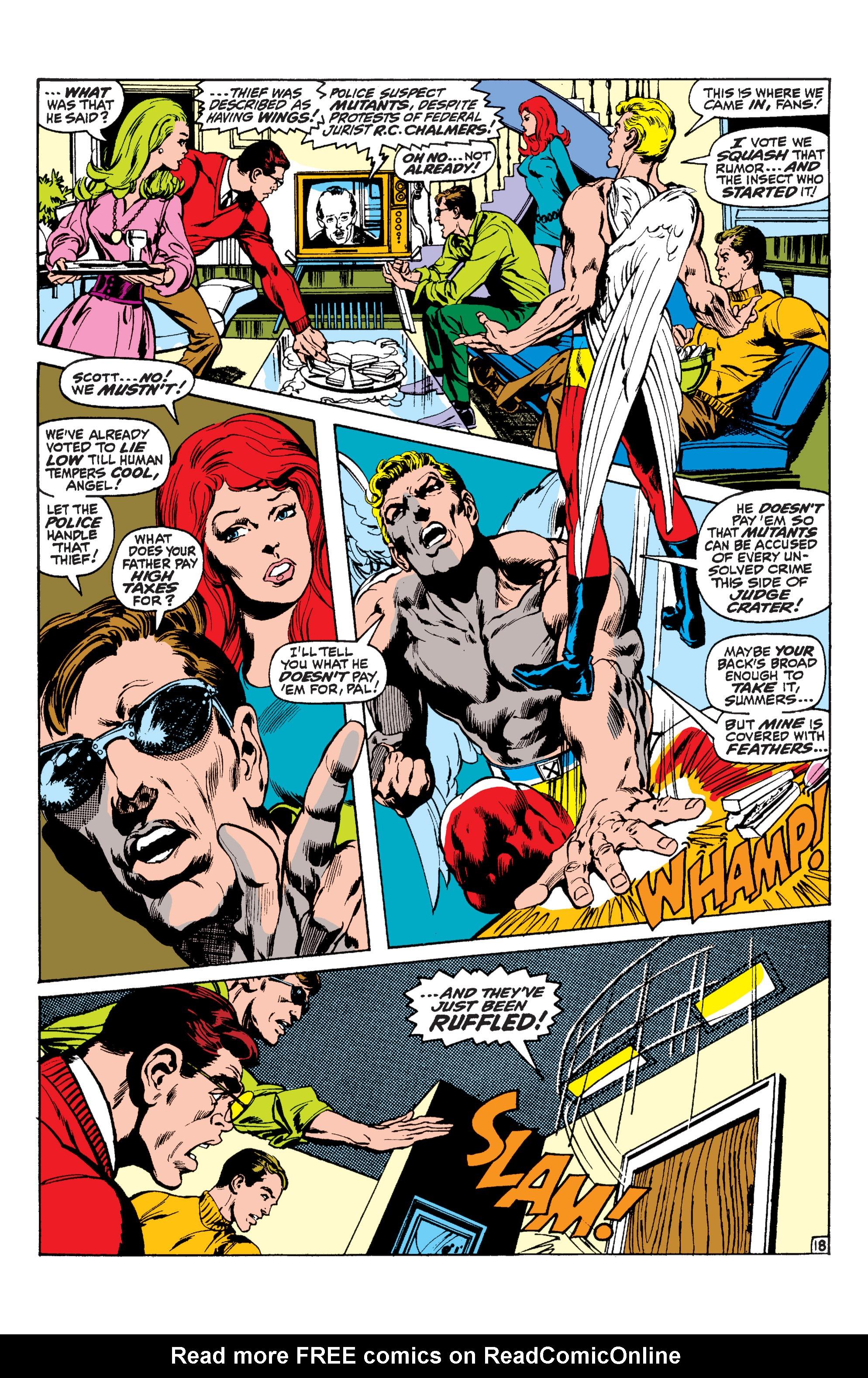 Read online Uncanny X-Men (1963) comic -  Issue #60 - 17