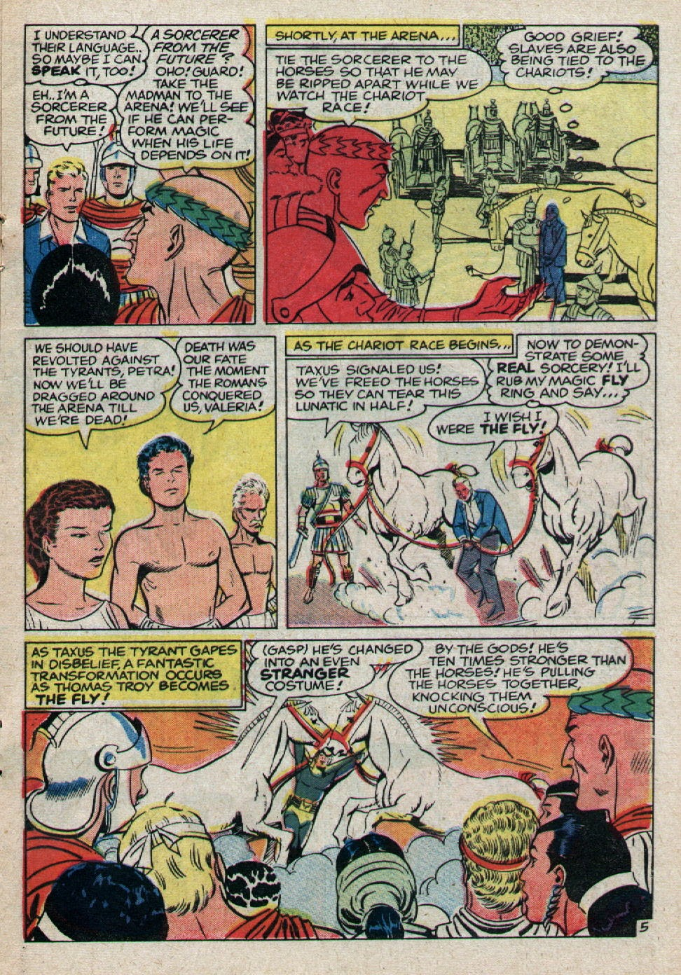 Adventures of the Fly issue 8 - Page 17