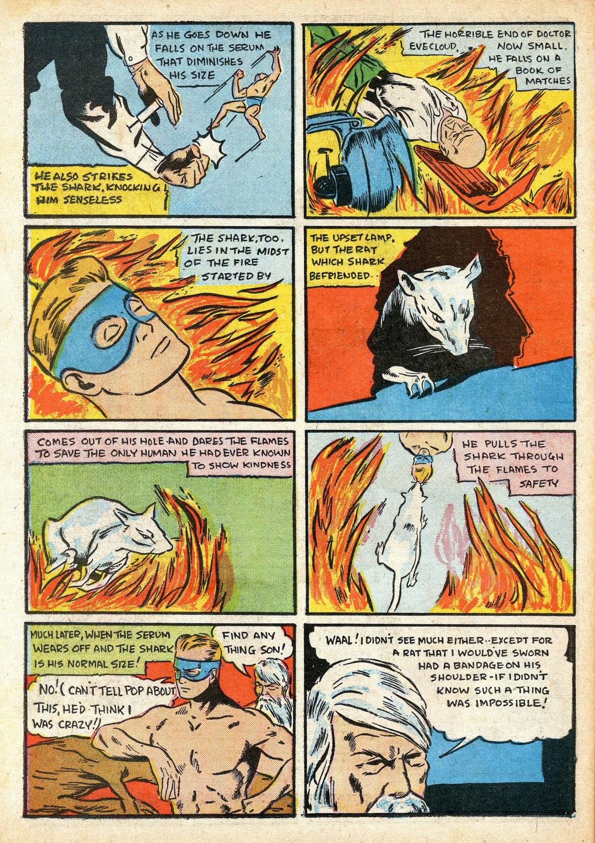 Read online Amazing Man Comics comic -  Issue #16 - 50