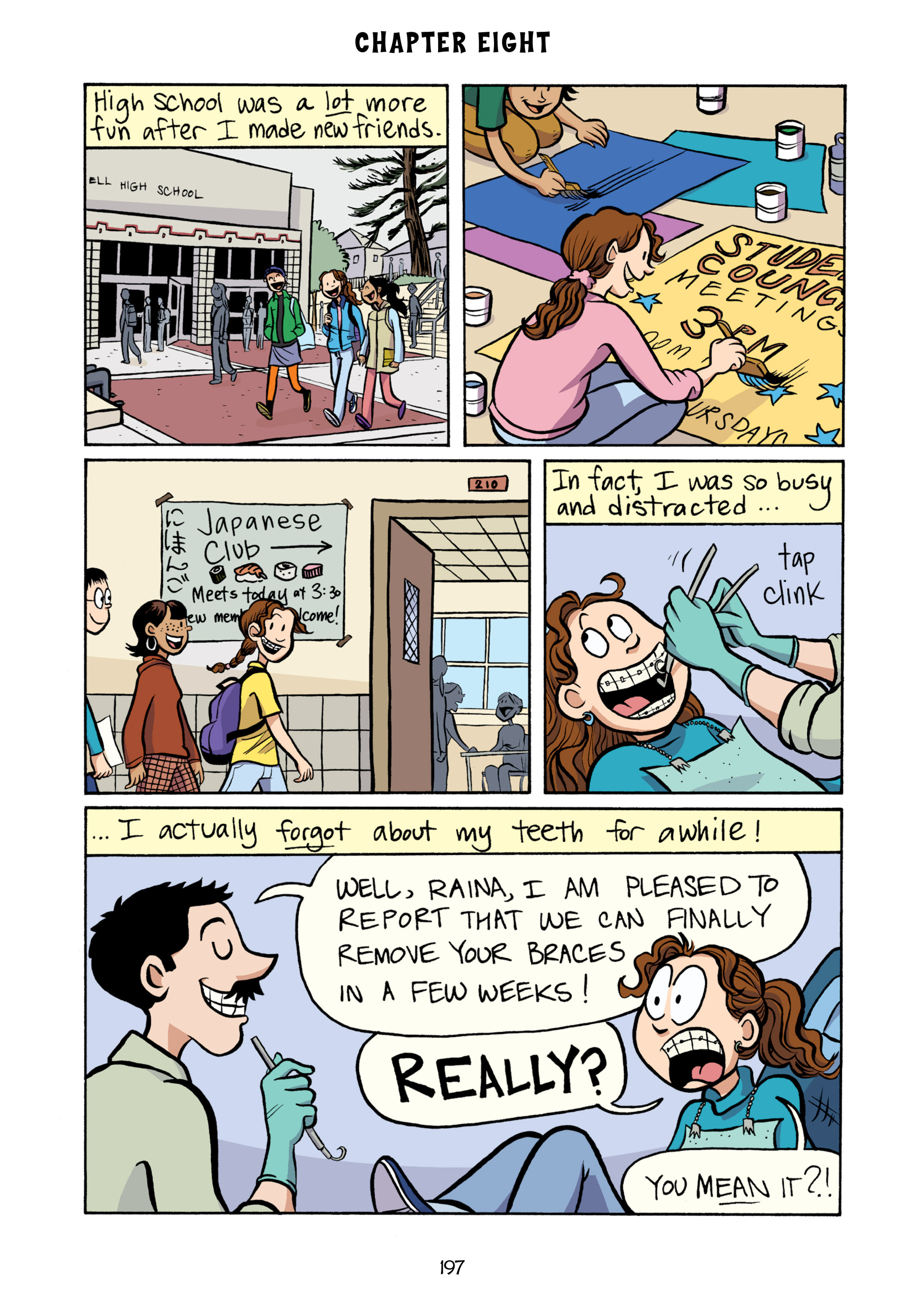 Read online Smile comic -  Issue # TPB - 203