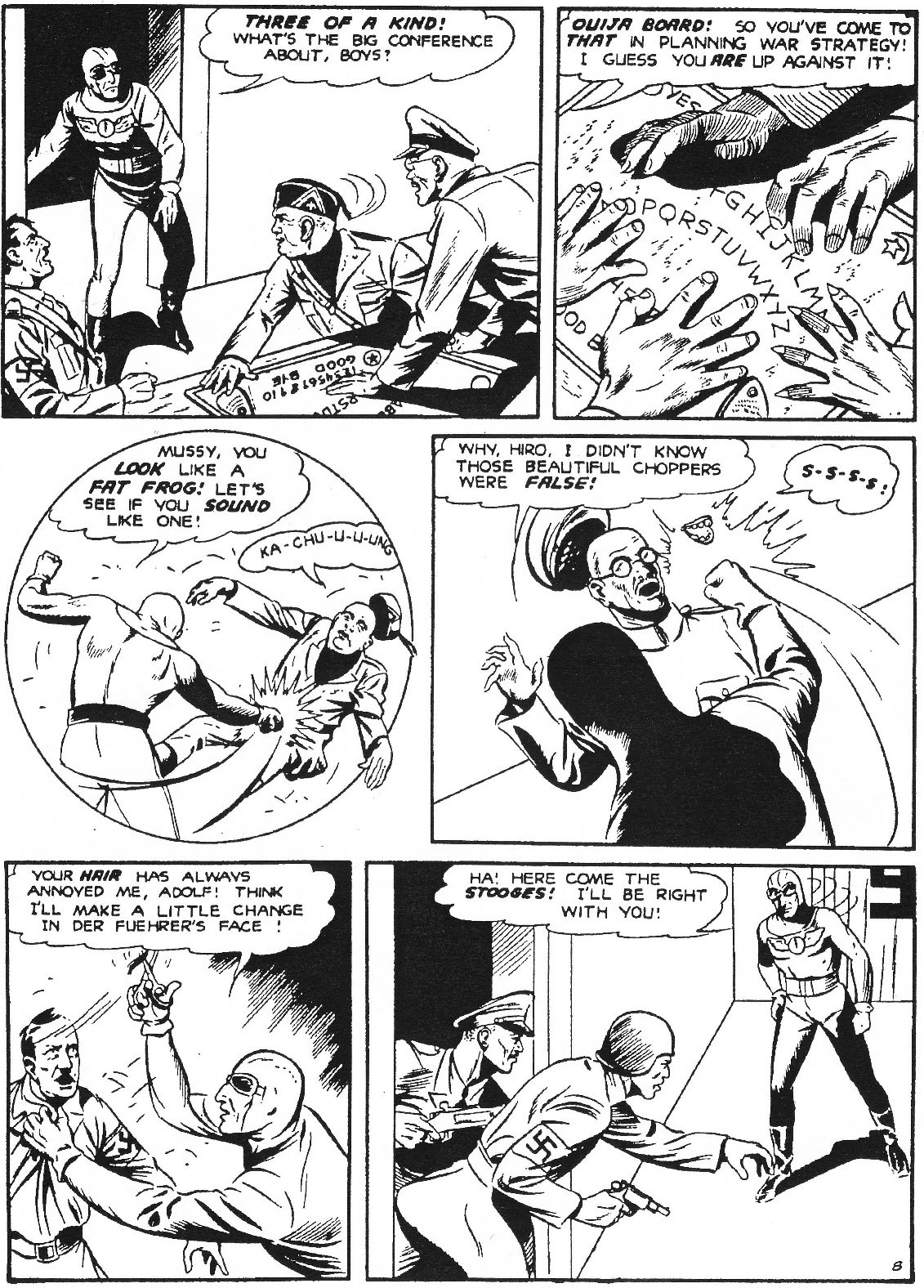 Captain Midnight (1942) issue 11 - Page 19