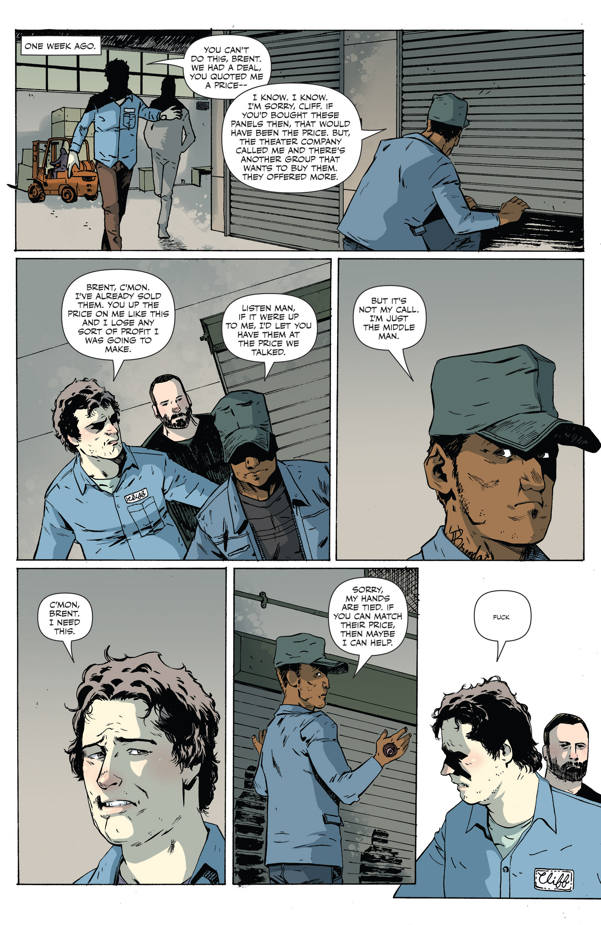 Read online Sheltered comic -  Issue #6 - 5