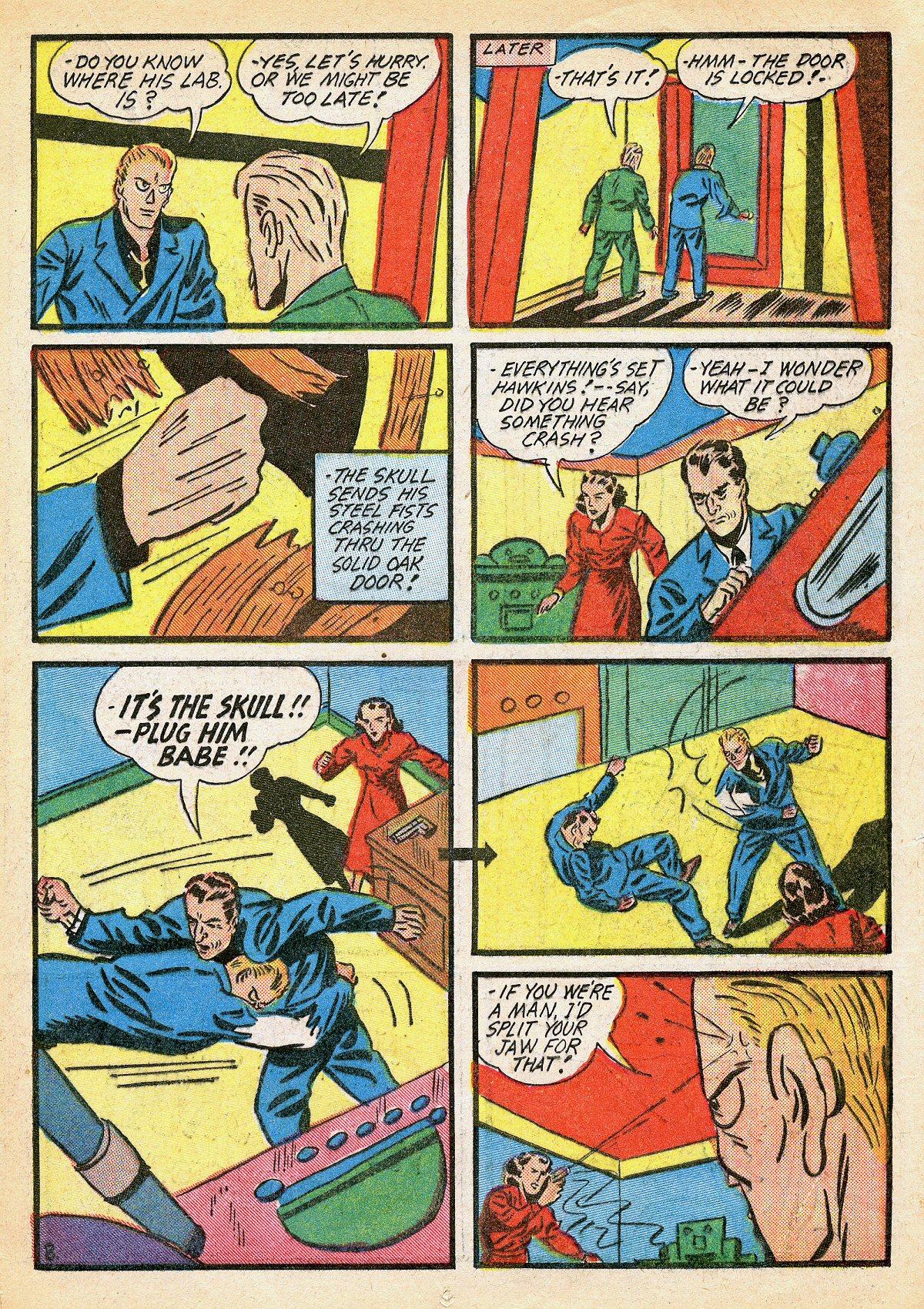 Read online Amazing Man Comics comic -  Issue #10 - 34