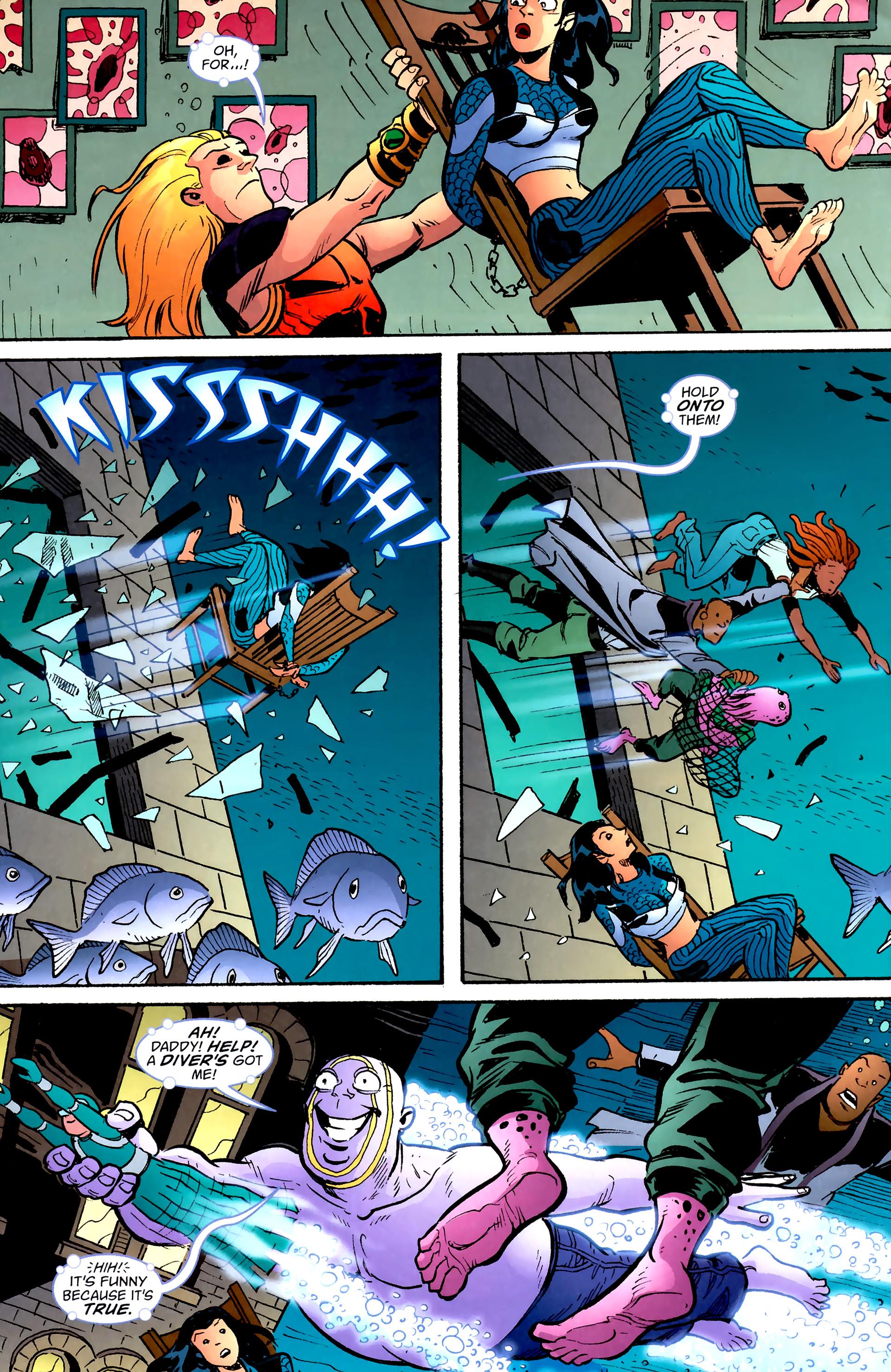 Read online Aquaman: Sword of Atlantis comic -  Issue #57 - 19