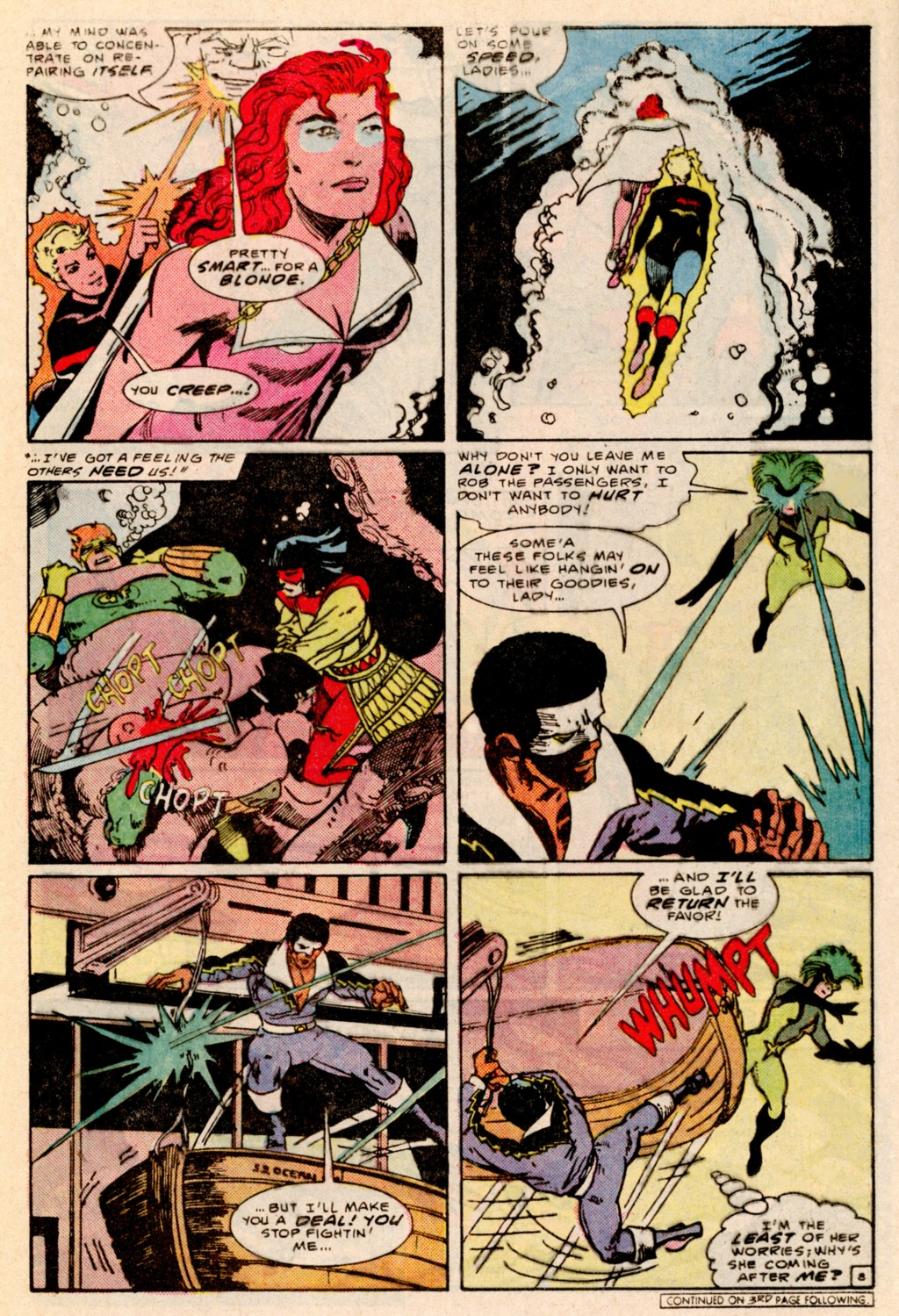 Read online Adventures of the Outsiders comic -  Issue #38 - 9