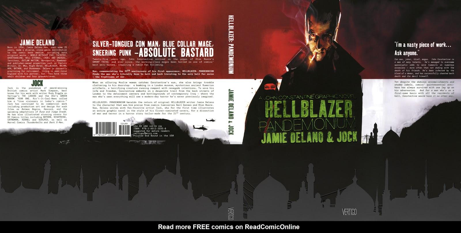 John Constantine, Hellblazer: Pandemonium issue 1 - Page 1