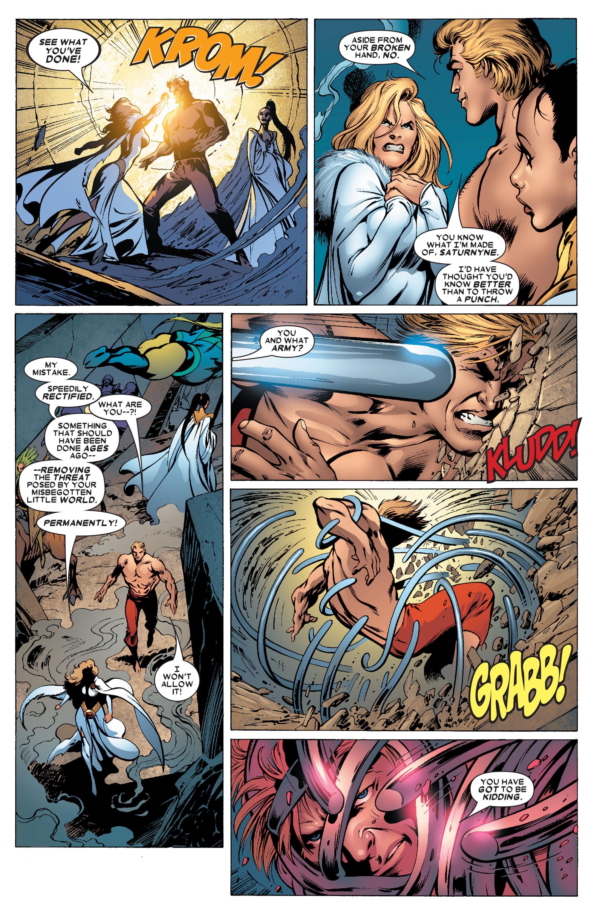 Read online Uncanny X-Men (1963) comic -  Issue #462 - 12