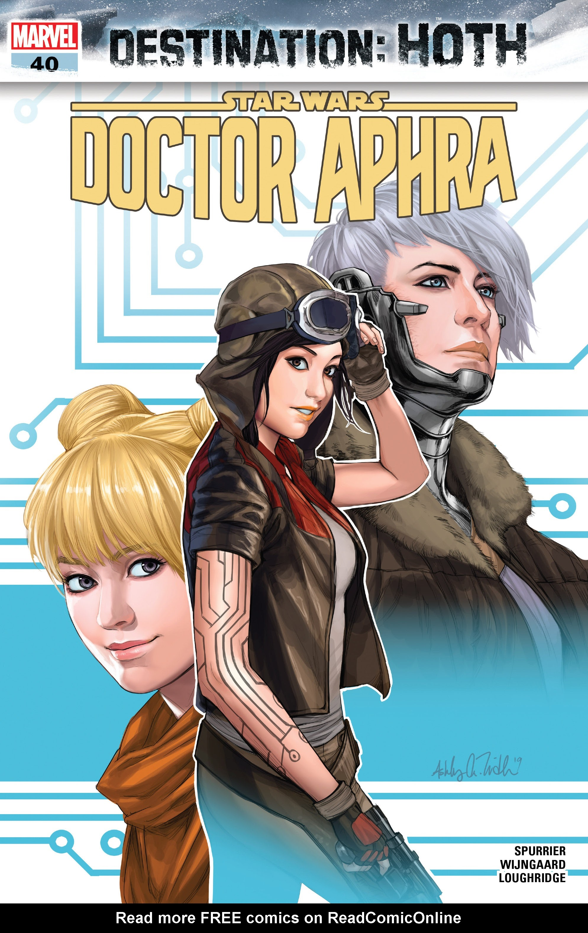 Doctor Aphra issue 40 - Page 1