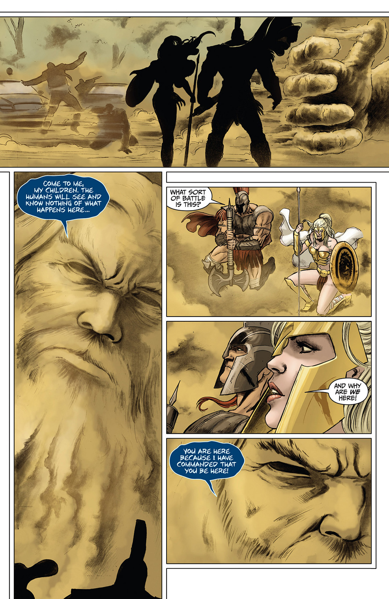 Read online Athena comic -  Issue #3 - 10
