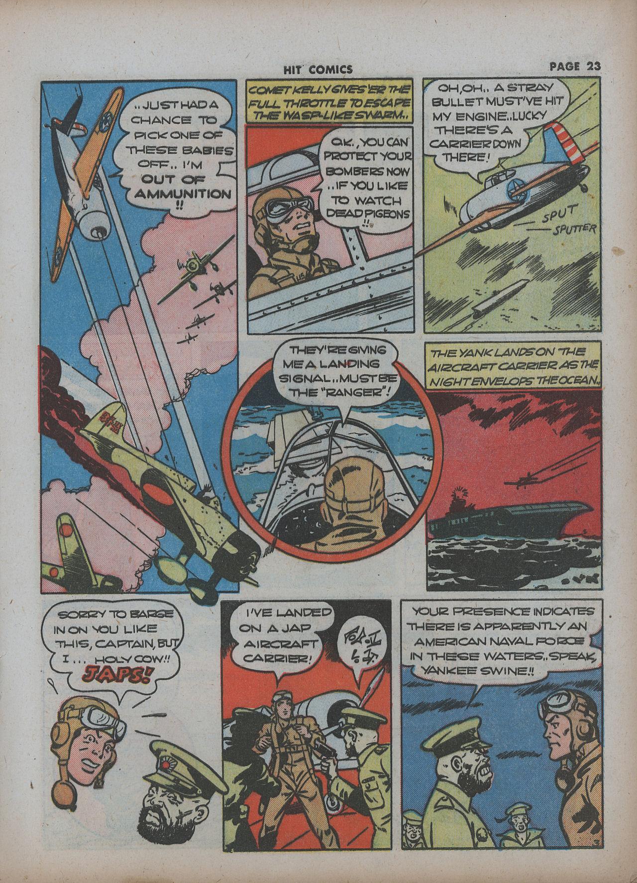Read online Hit Comics comic -  Issue #22 - 25