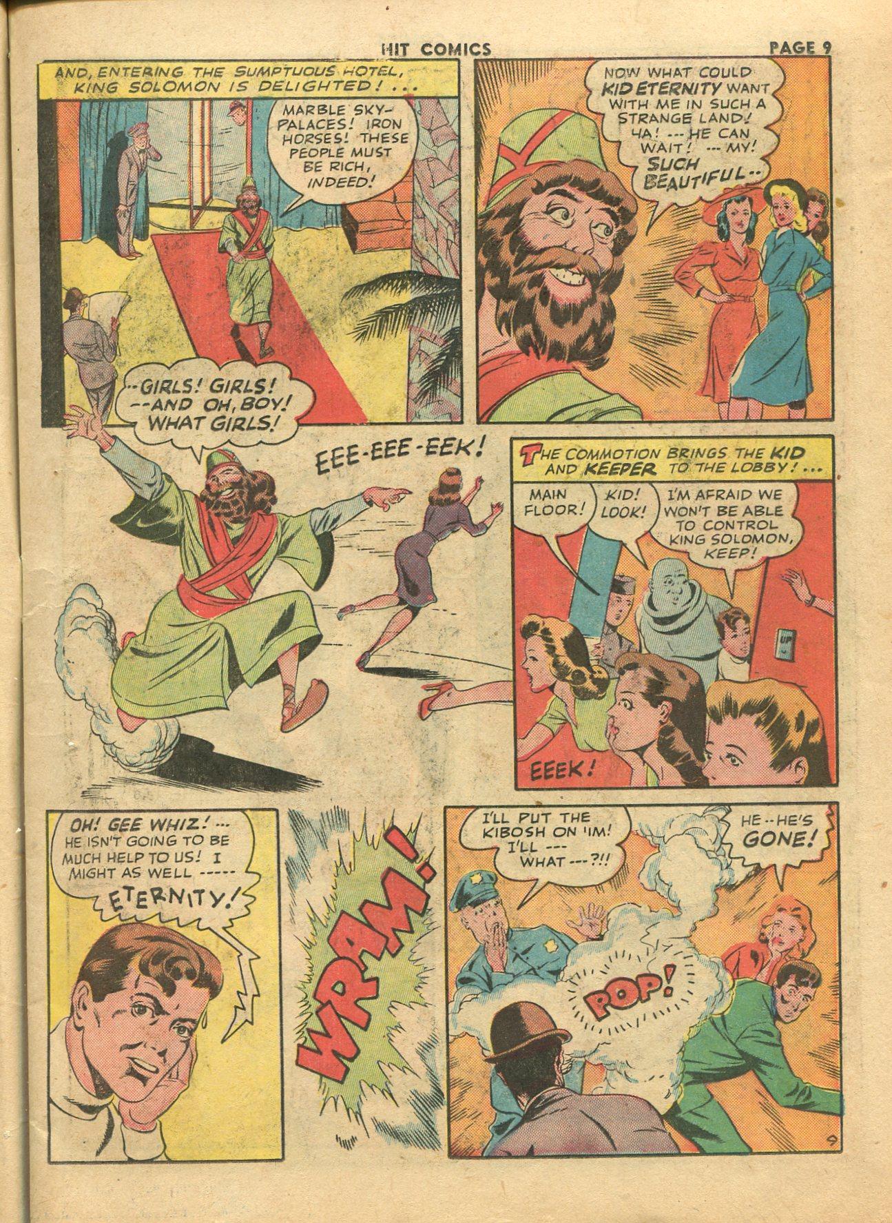 Read online Hit Comics comic -  Issue #28 - 12