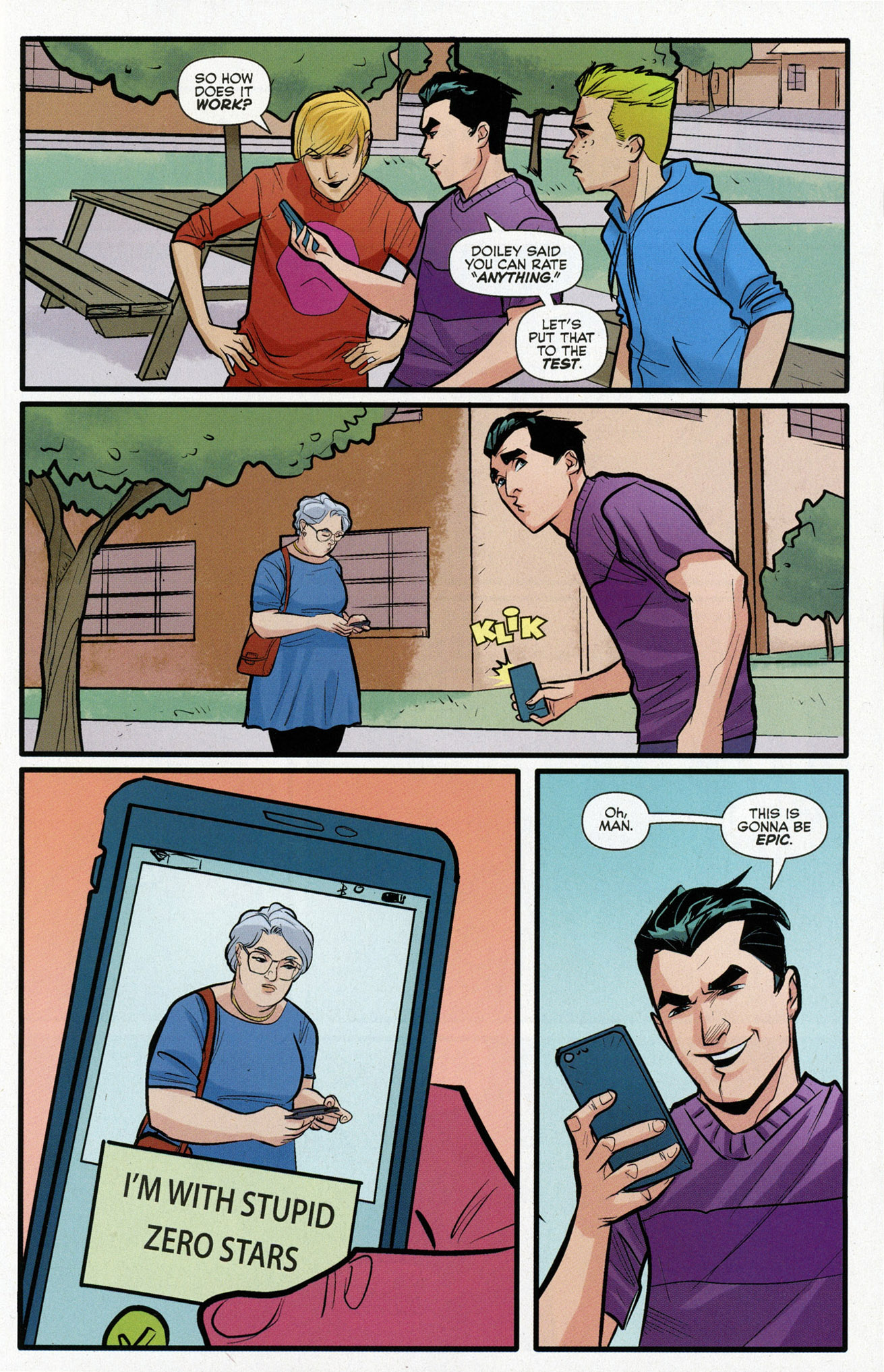 Read online Archie (2015) comic -  Issue #16 - 7