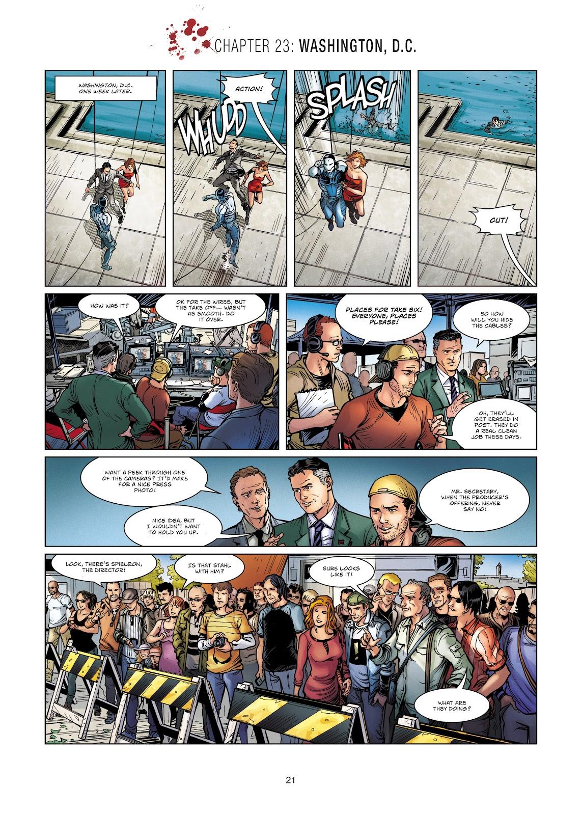 Read online Vigilantes comic -  Issue #4 - 21