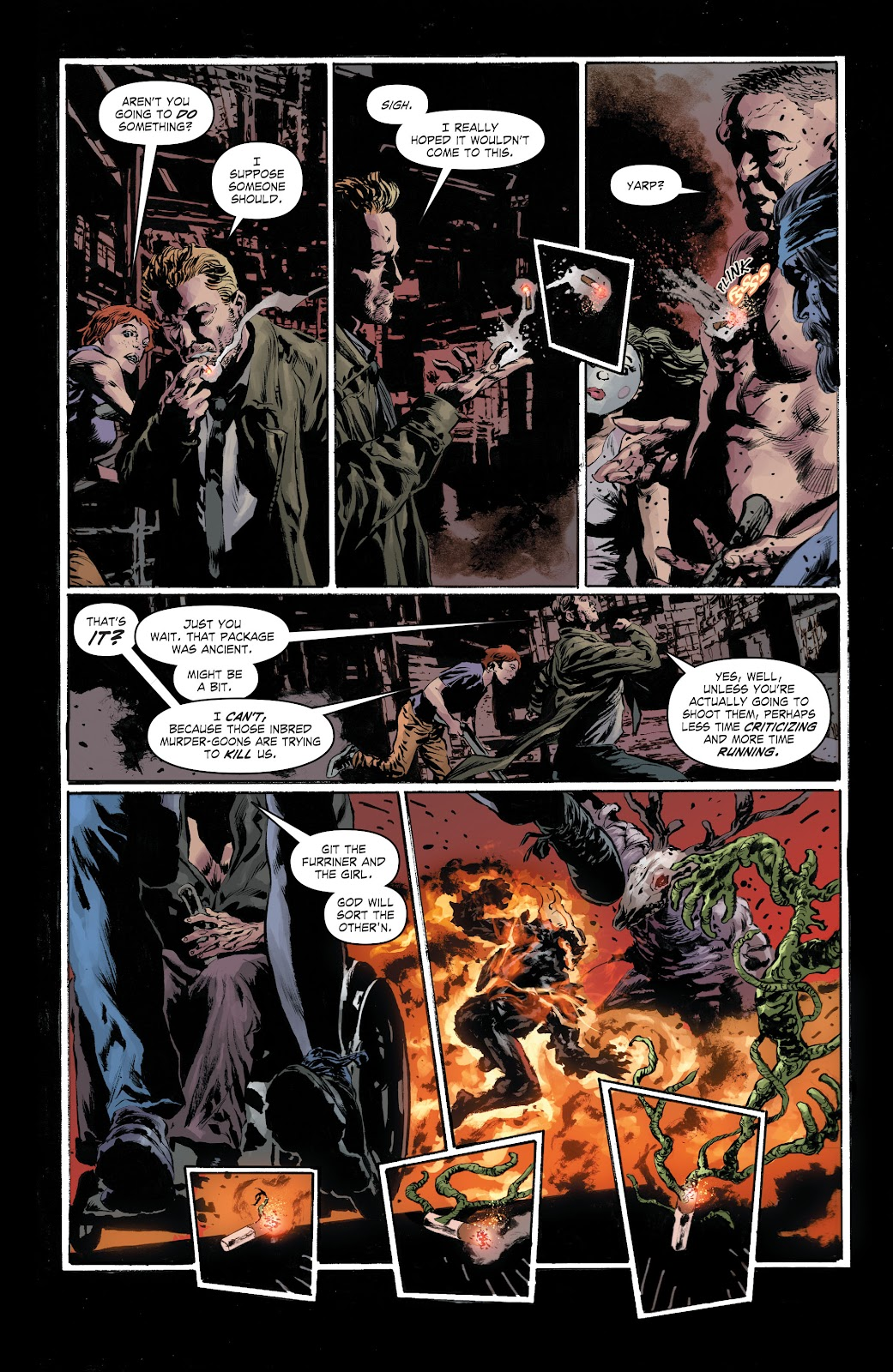 Read online The Curse of Brimstone: Ashes comic -  Issue # TPB (Part 1) - 17