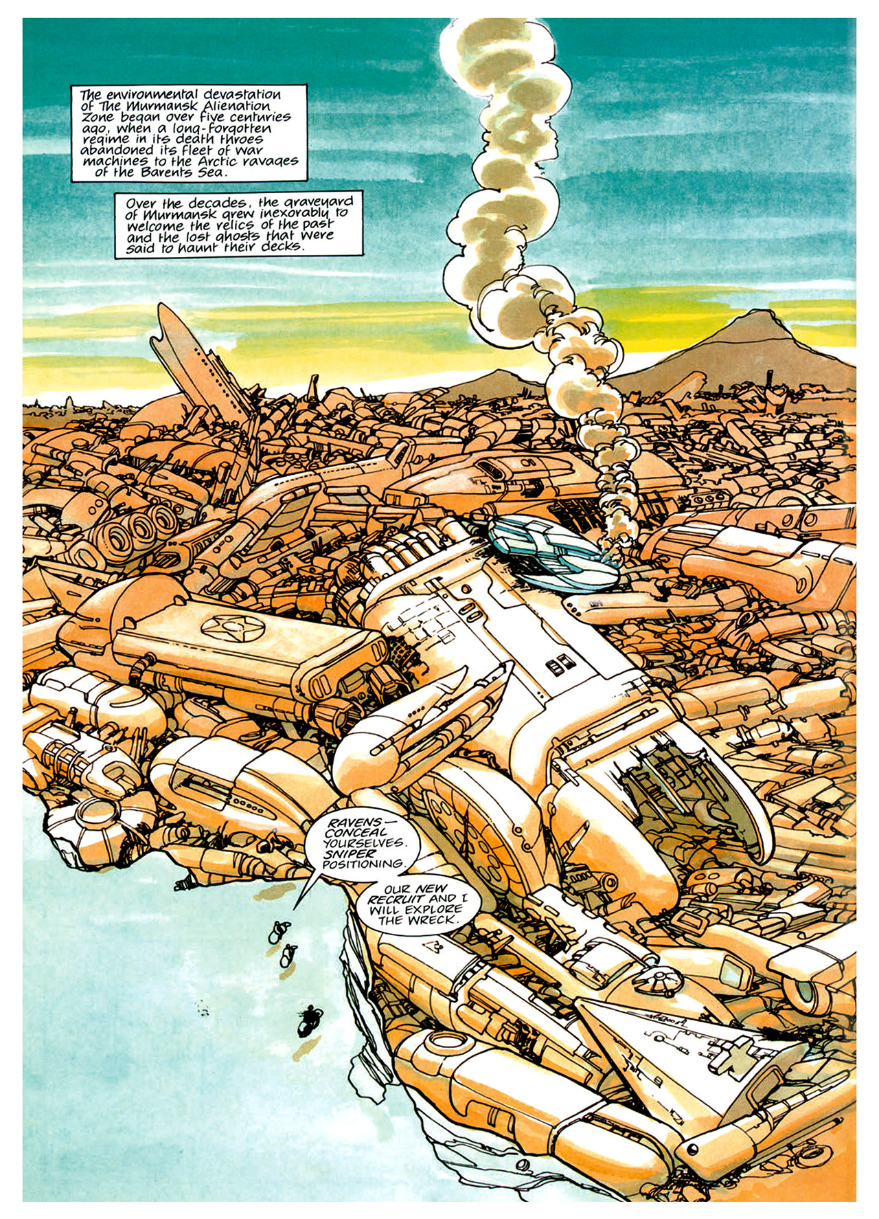 Read online Nikolai Dante comic -  Issue # TPB 1 - 21