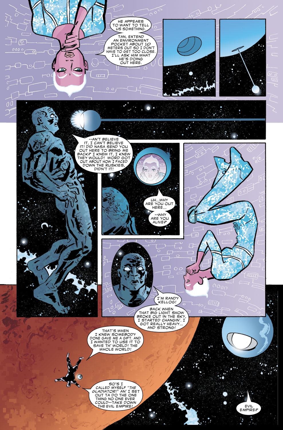 Read online Untold Tales Of The New Universe: Star Brand comic -  Issue # Full - 5