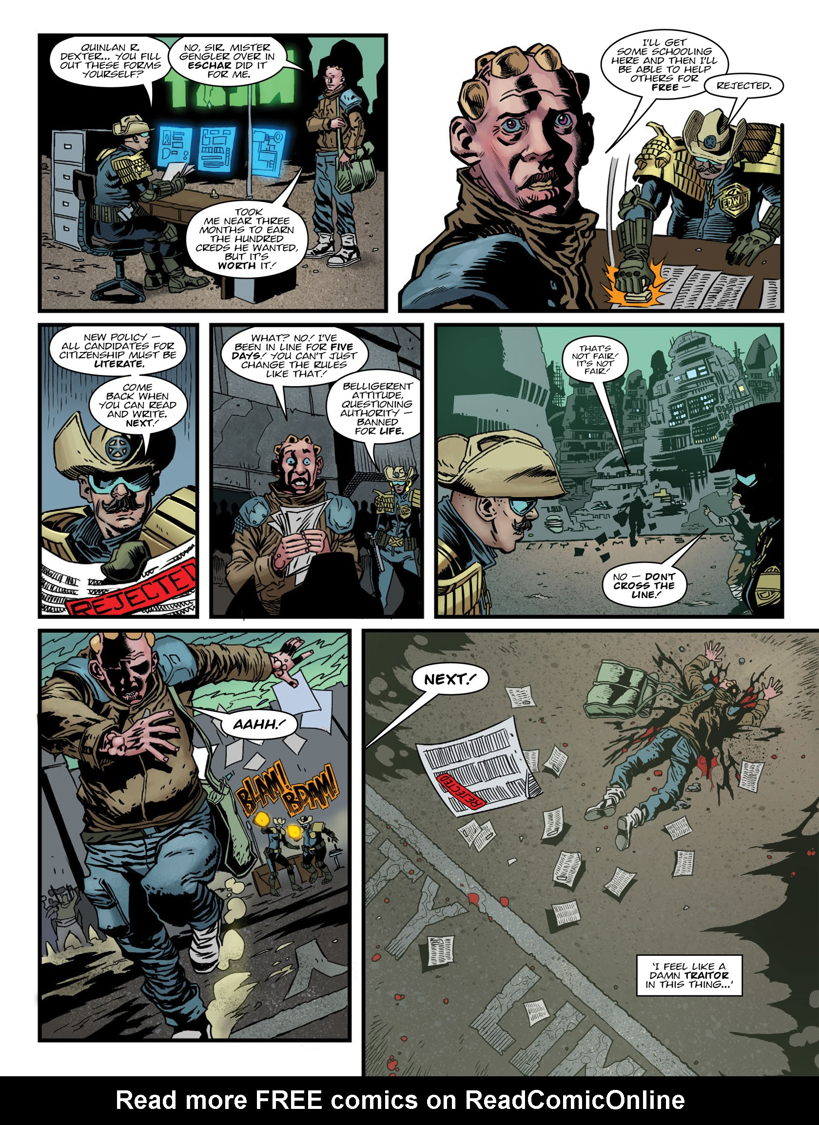 Read online 2000 AD comic -  Issue #1984 - 6