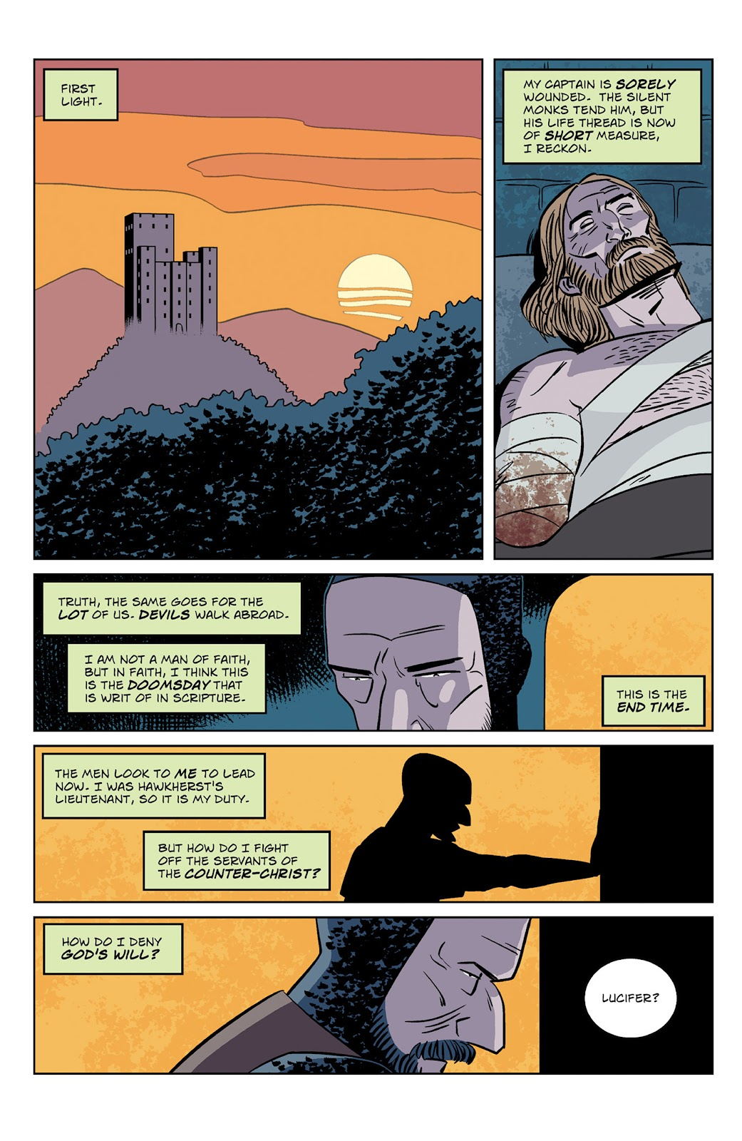 Read online Dark Ages comic -  Issue #2 - 3