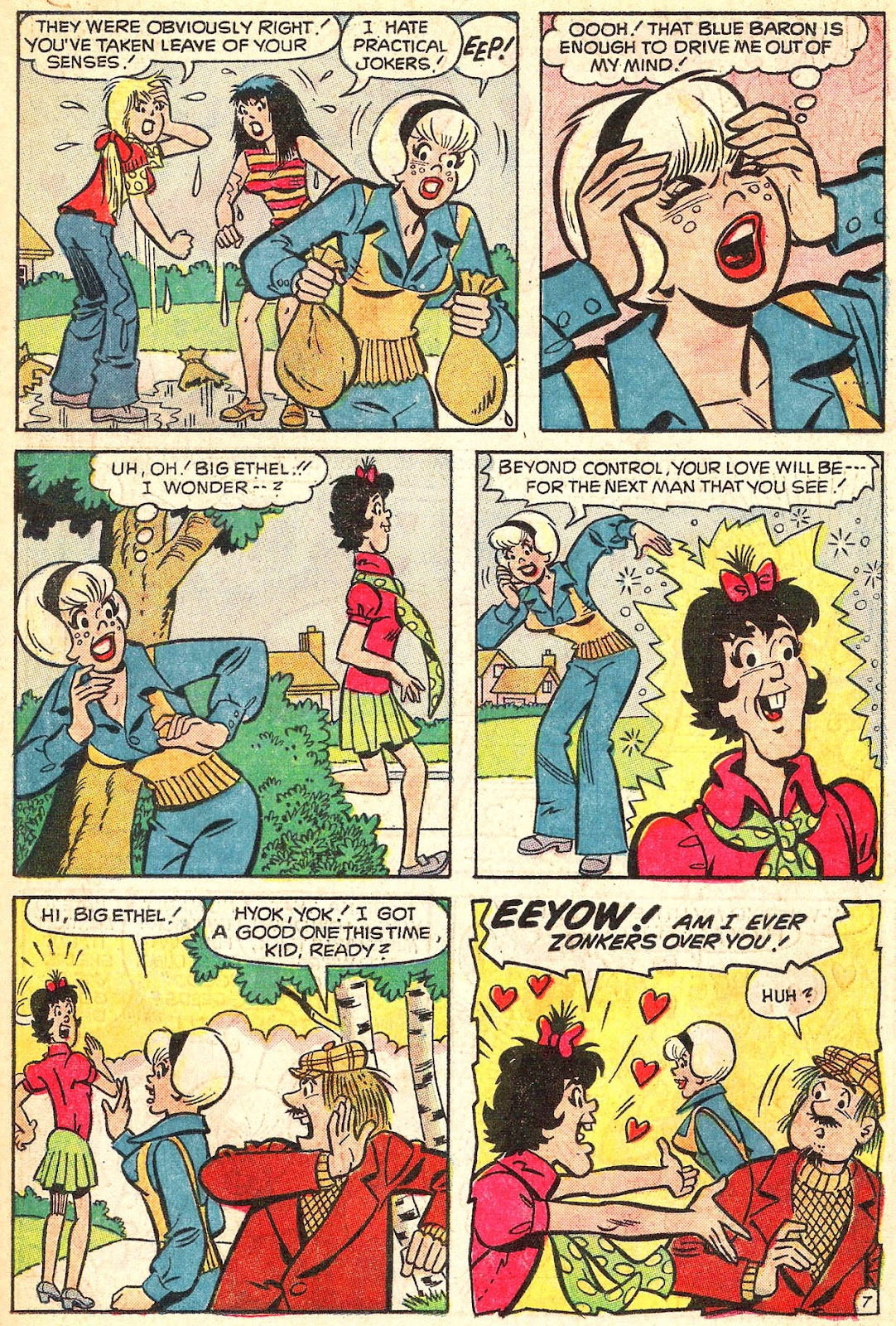 Sabrina The Teenage Witch (1971) Issue #15 #15 - English 34