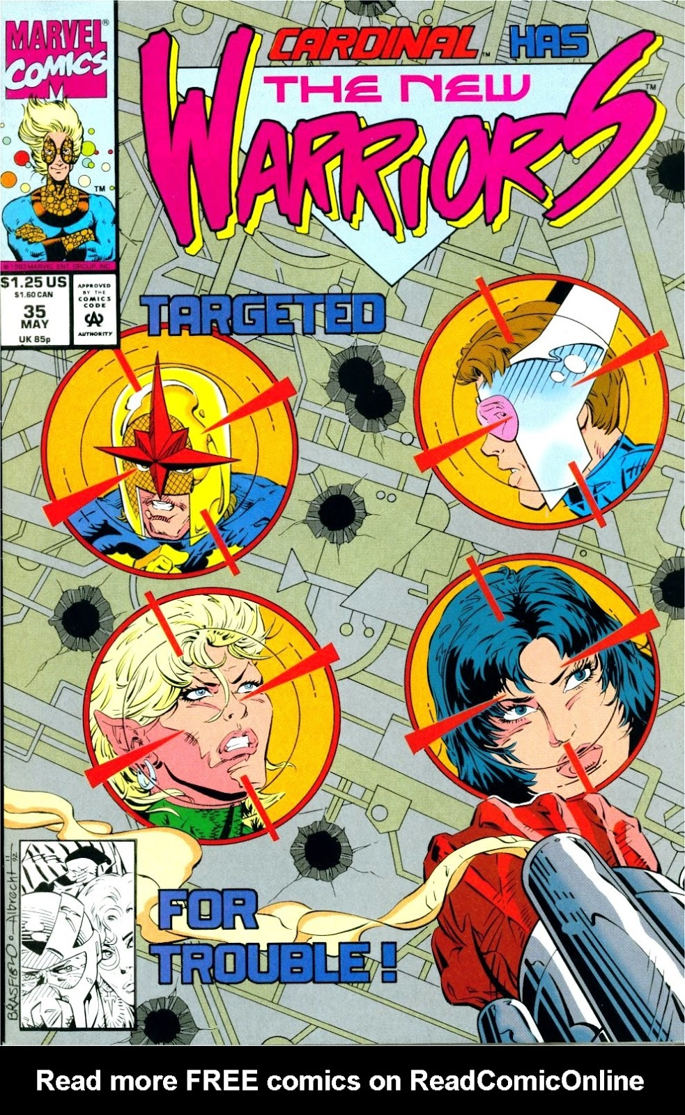 The New Warriors Issue #35 #39 - English 1