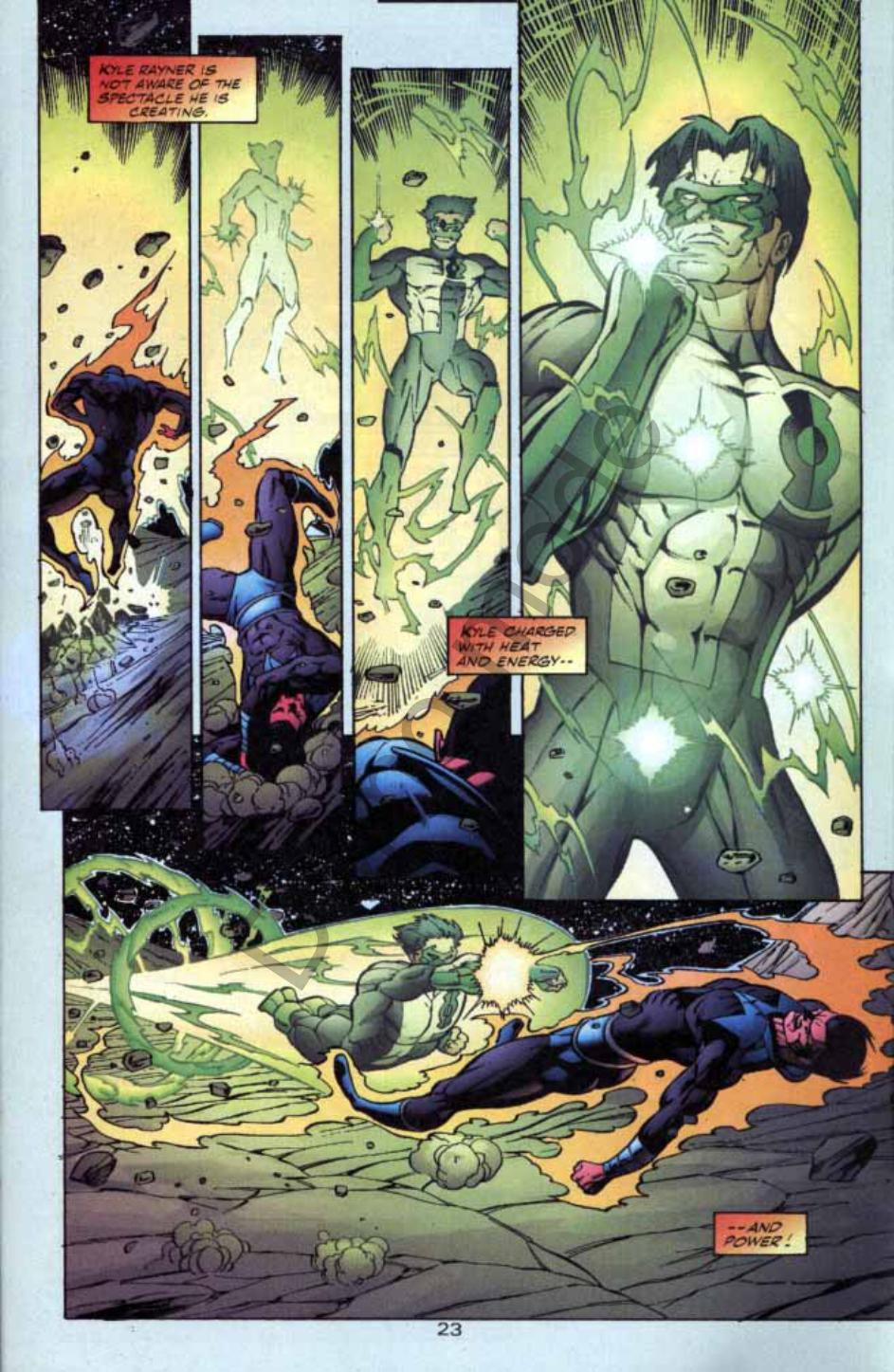 Read online Green Lantern: Our Worlds At War comic -  Issue # Full - 22