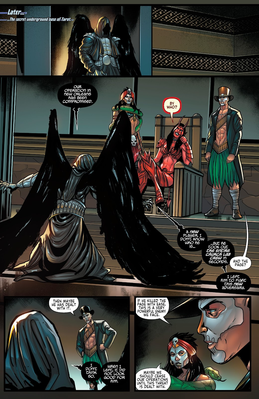 Read online Zodiac comic -  Issue #1 - 12