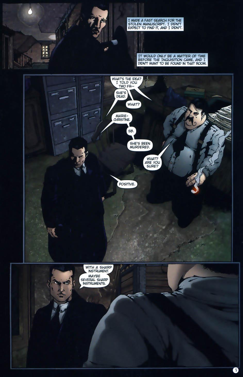 Read online Rex Mundi comic -  Issue #1 - 5