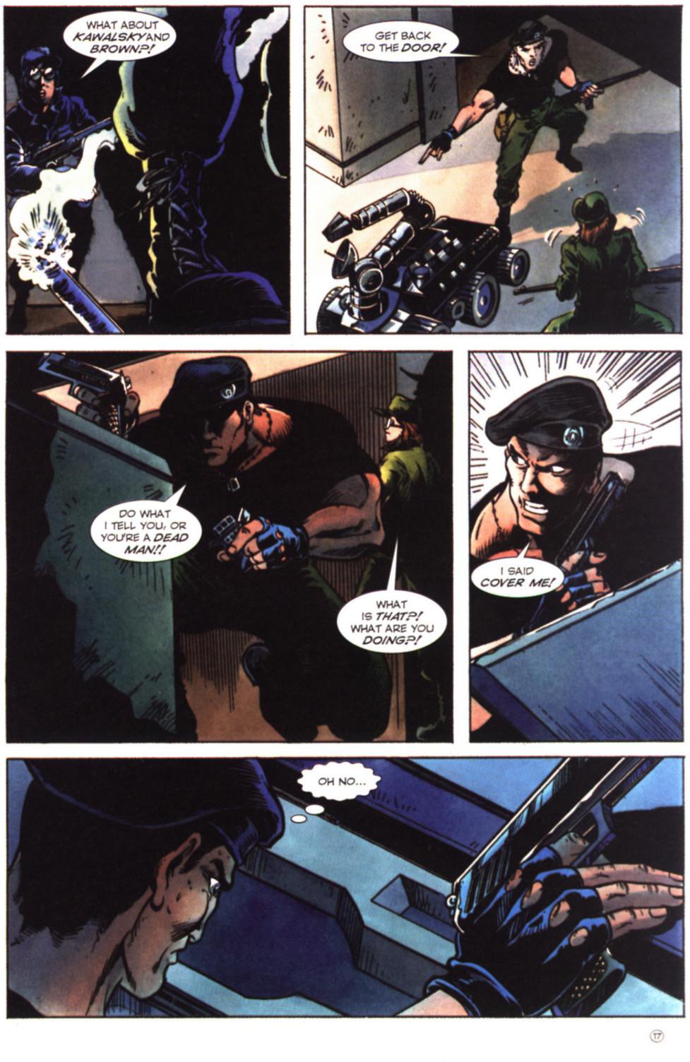 Read online Stargate comic -  Issue #2 - 19