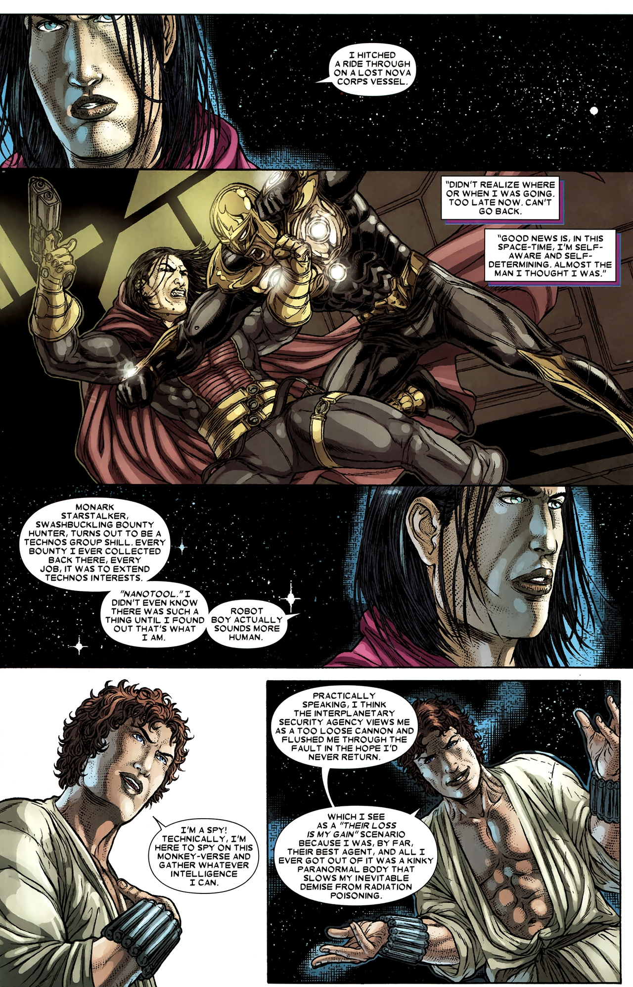 Read online Wolverine: The Best There Is comic -  Issue #9 - 13