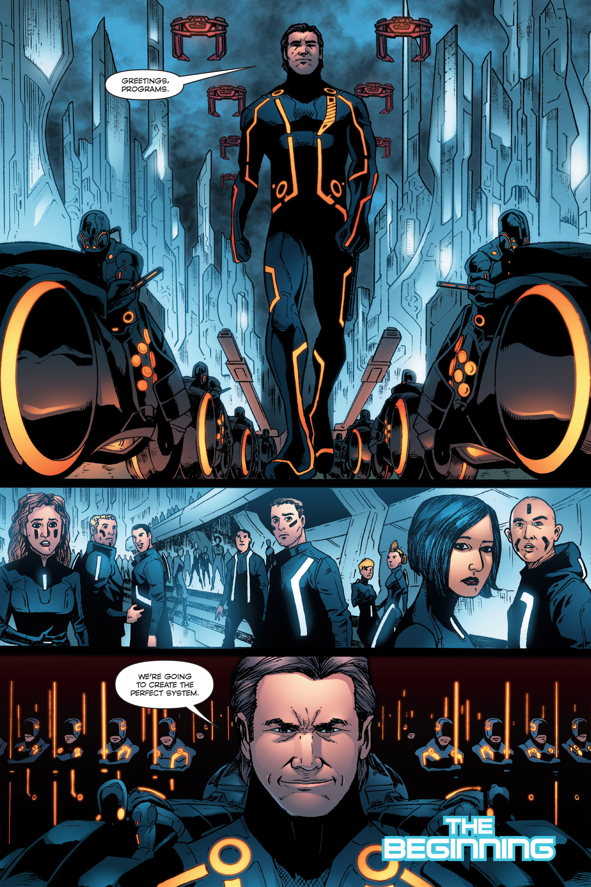 Read online TRON: Betrayal comic -  Issue # TPB - 113