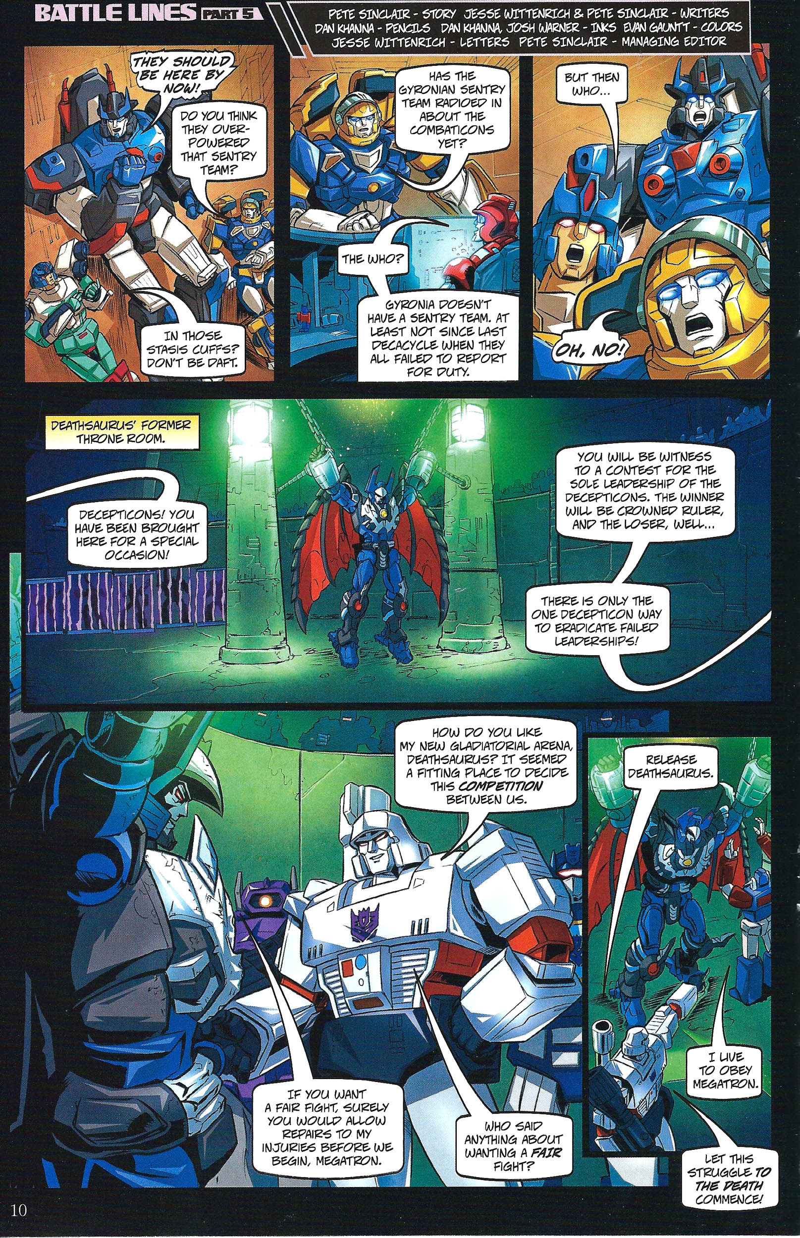 Read online Transformers: Collectors' Club comic -  Issue #41 - 10