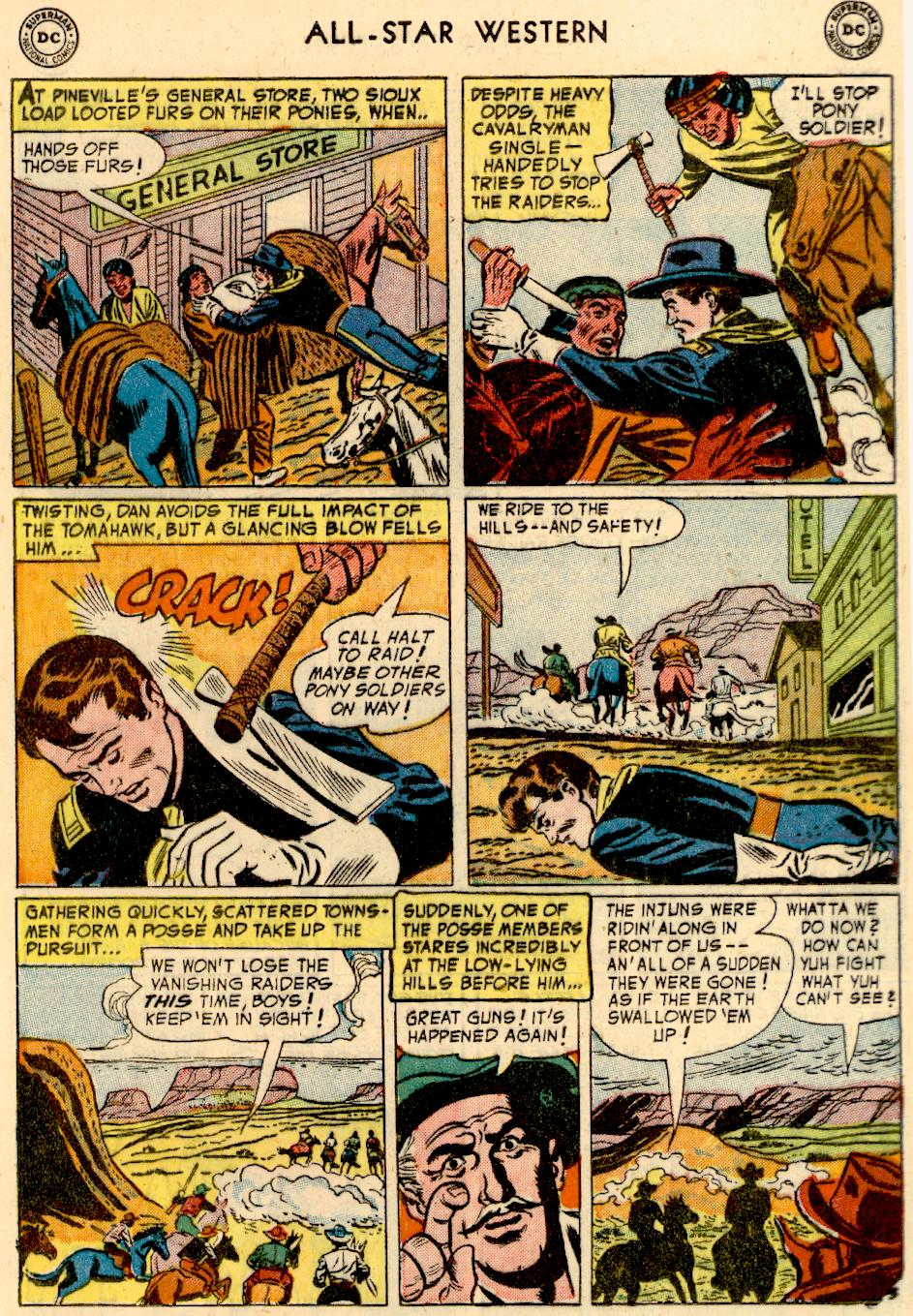 Read online All-Star Western (1951) comic -  Issue #73 - 21