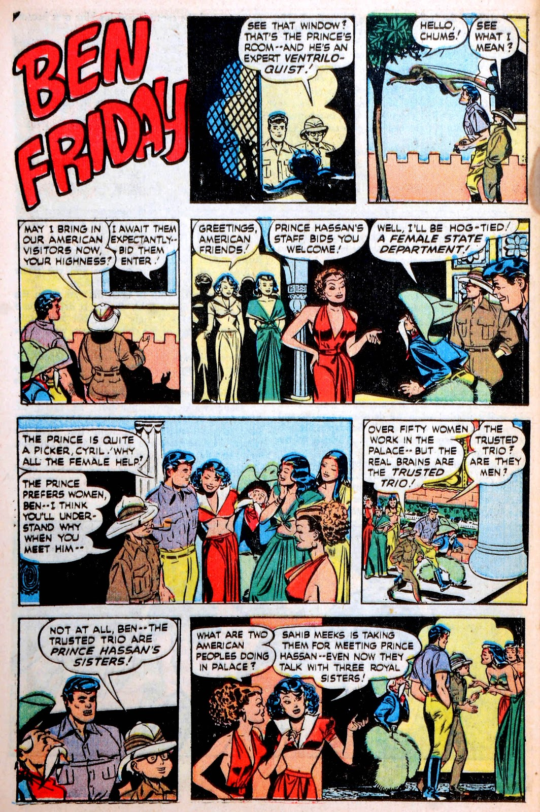 Read online Famous Funnies comic -  Issue #194 - 39