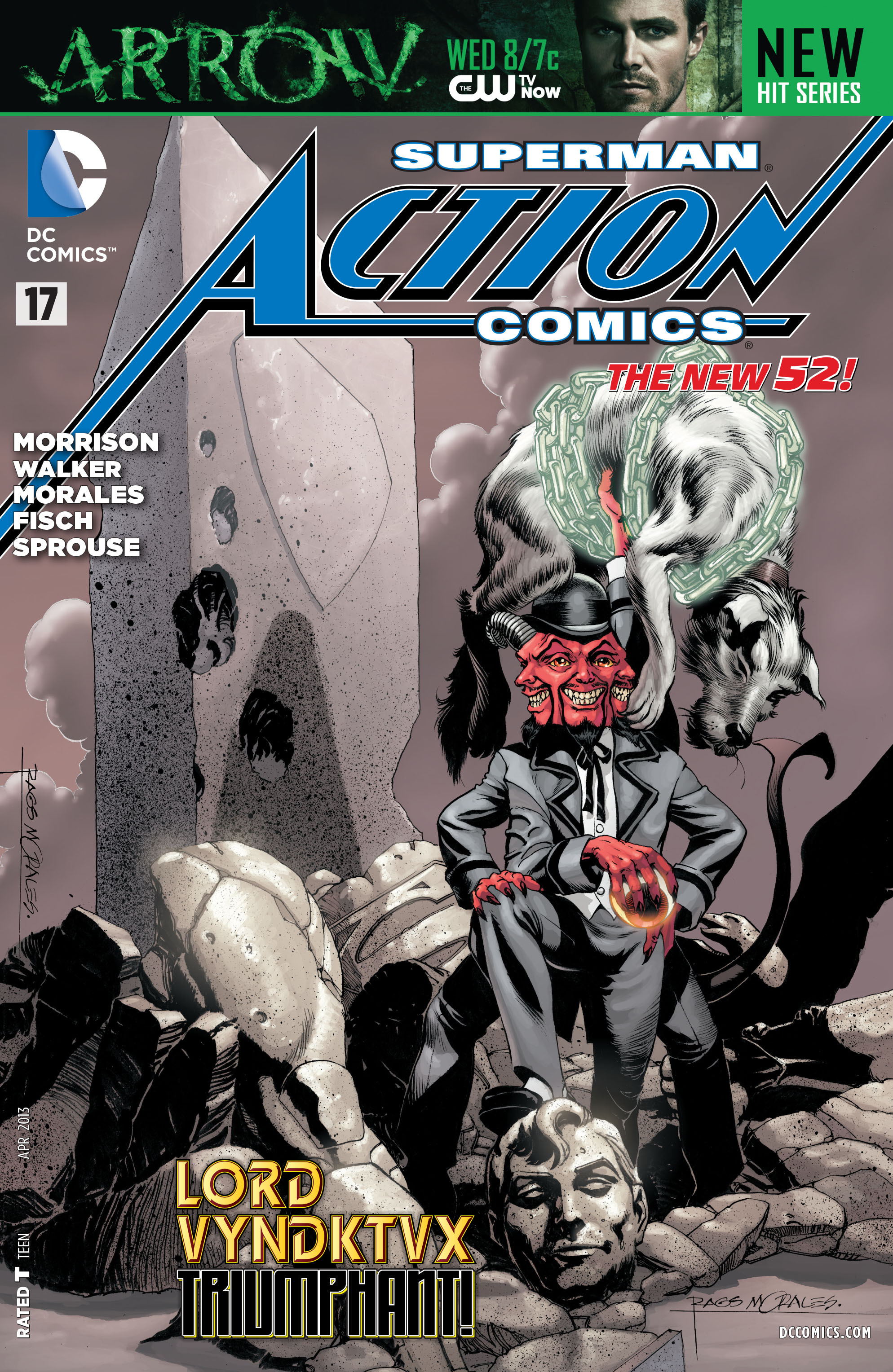 Read online Action Comics (2011) comic -  Issue #17 - 4