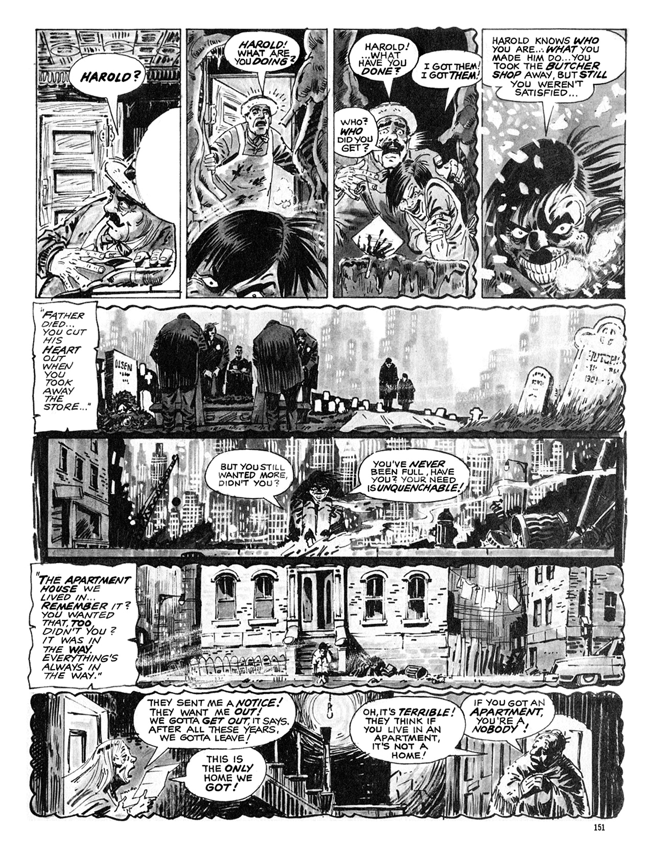 Read online Eerie Archives comic -  Issue # TPB 8 - 152