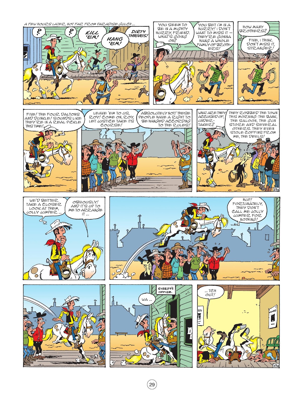 A Lucky Luke Adventure issue 73 - Page 31