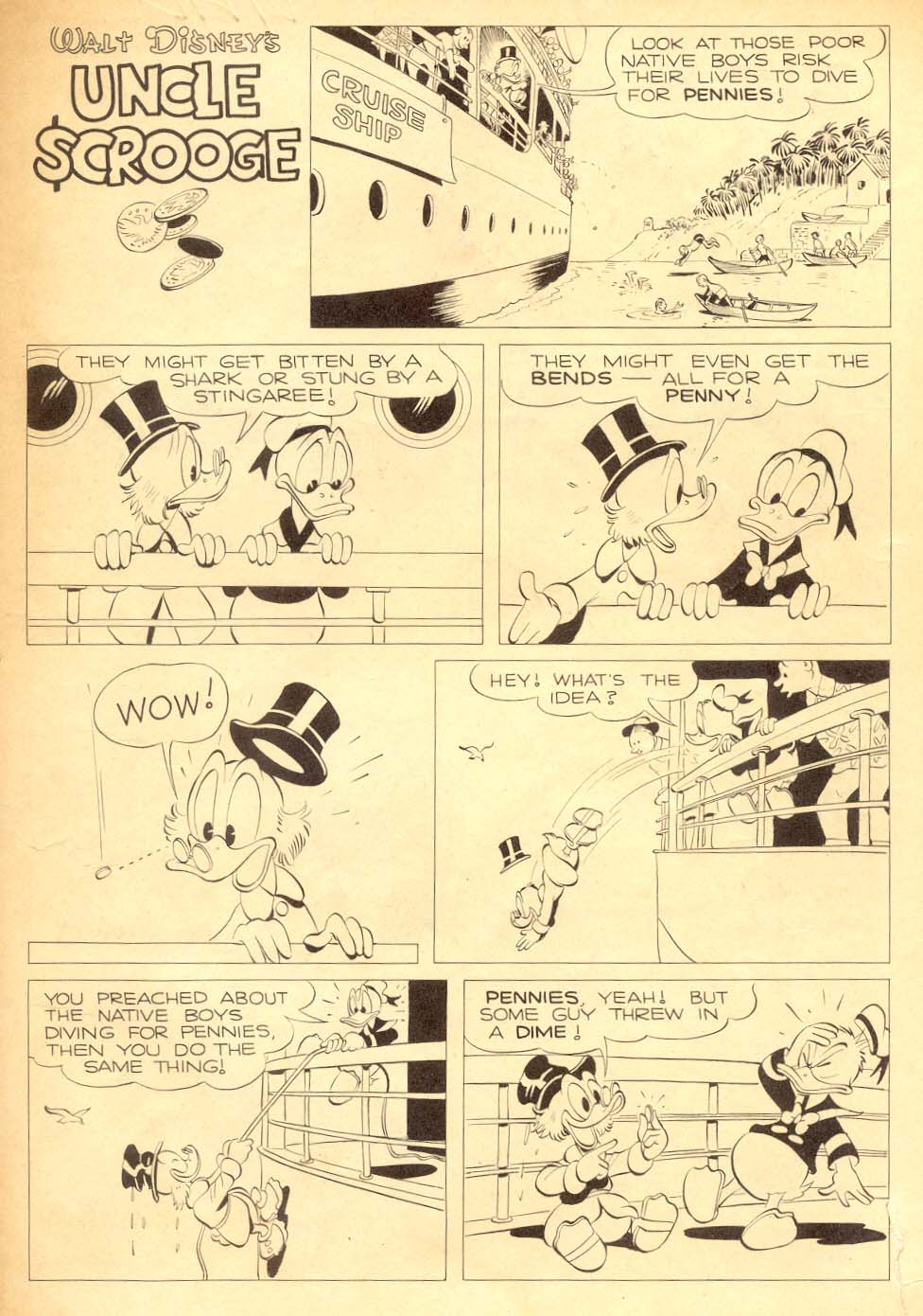 Read online Uncle Scrooge (1953) comic -  Issue #5 - 35