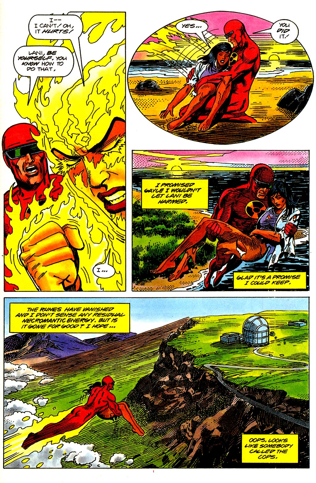 Read online Solar, Man of the Atom comic -  Issue #43 - 21
