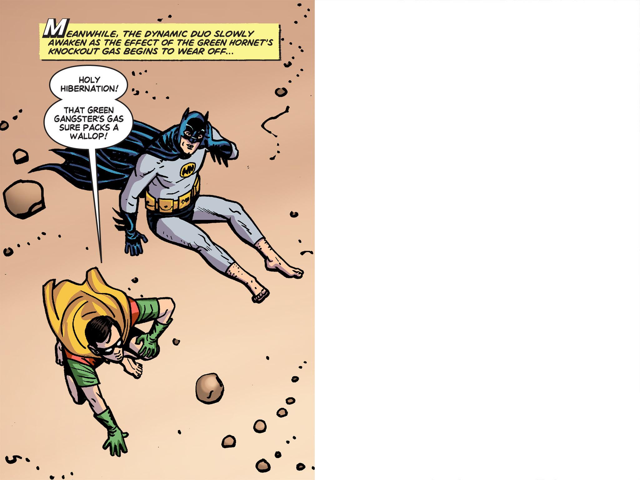 Read online Batman '66 Meets the Green Hornet [II] comic -  Issue #4 - 29