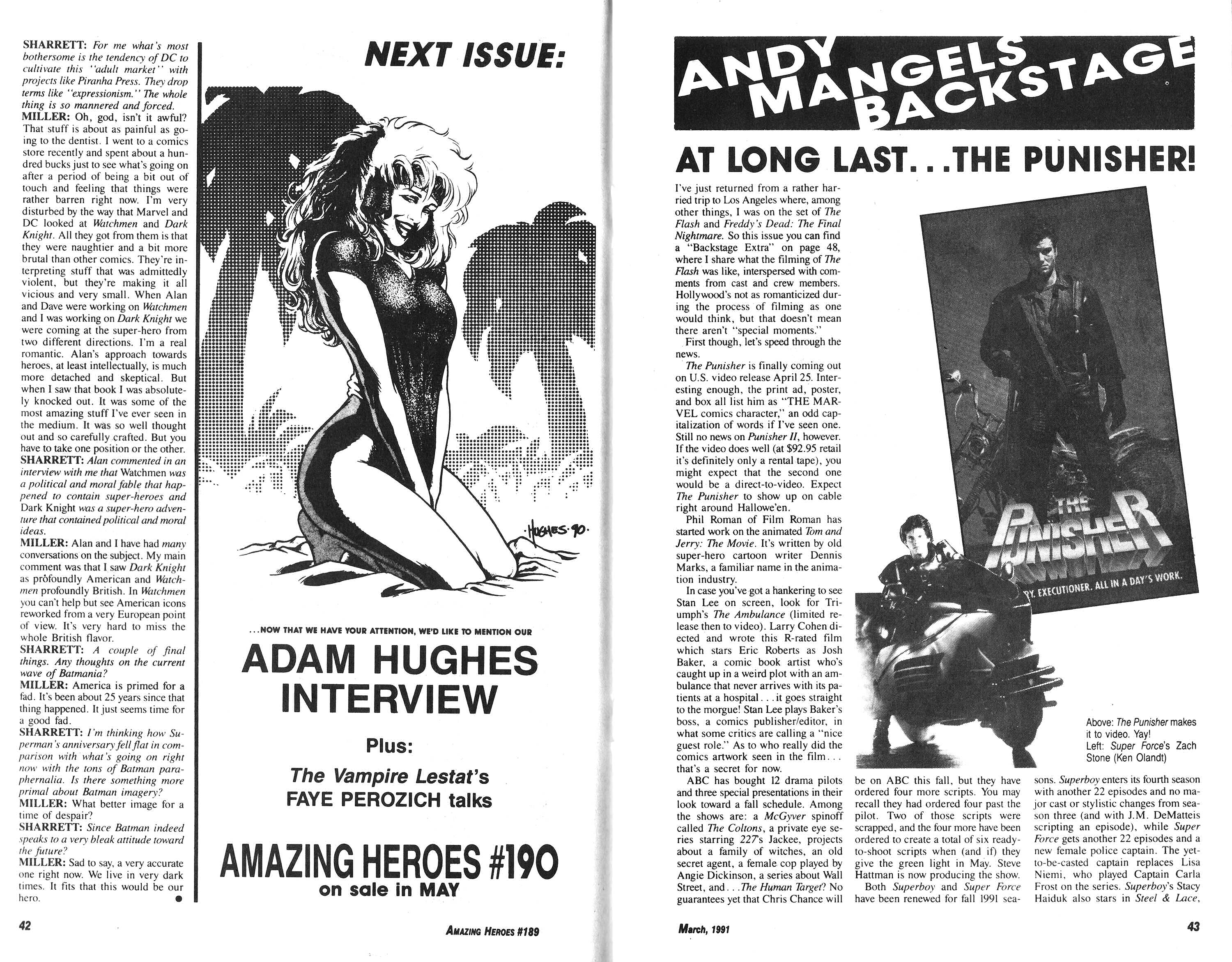 Read online Amazing Heroes comic -  Issue #189 - 22