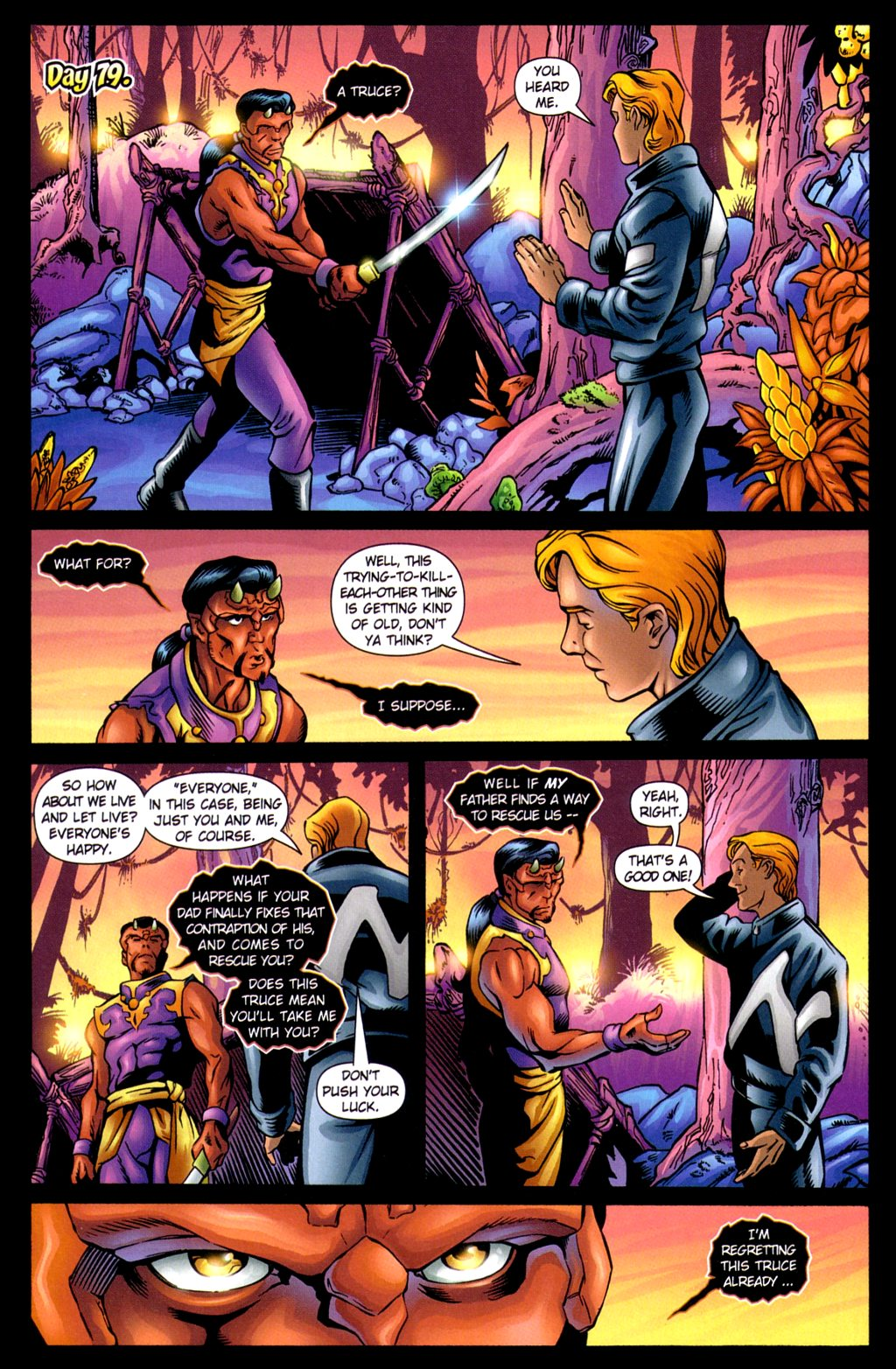 Read online Noble Causes (2002) comic -  Issue #3 - 21