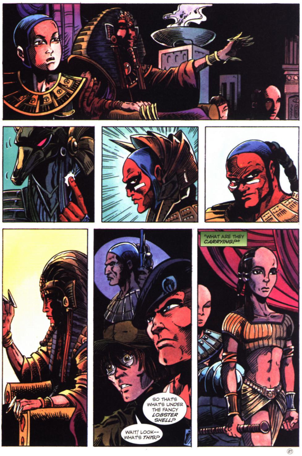 Read online Stargate comic -  Issue #2 - 23