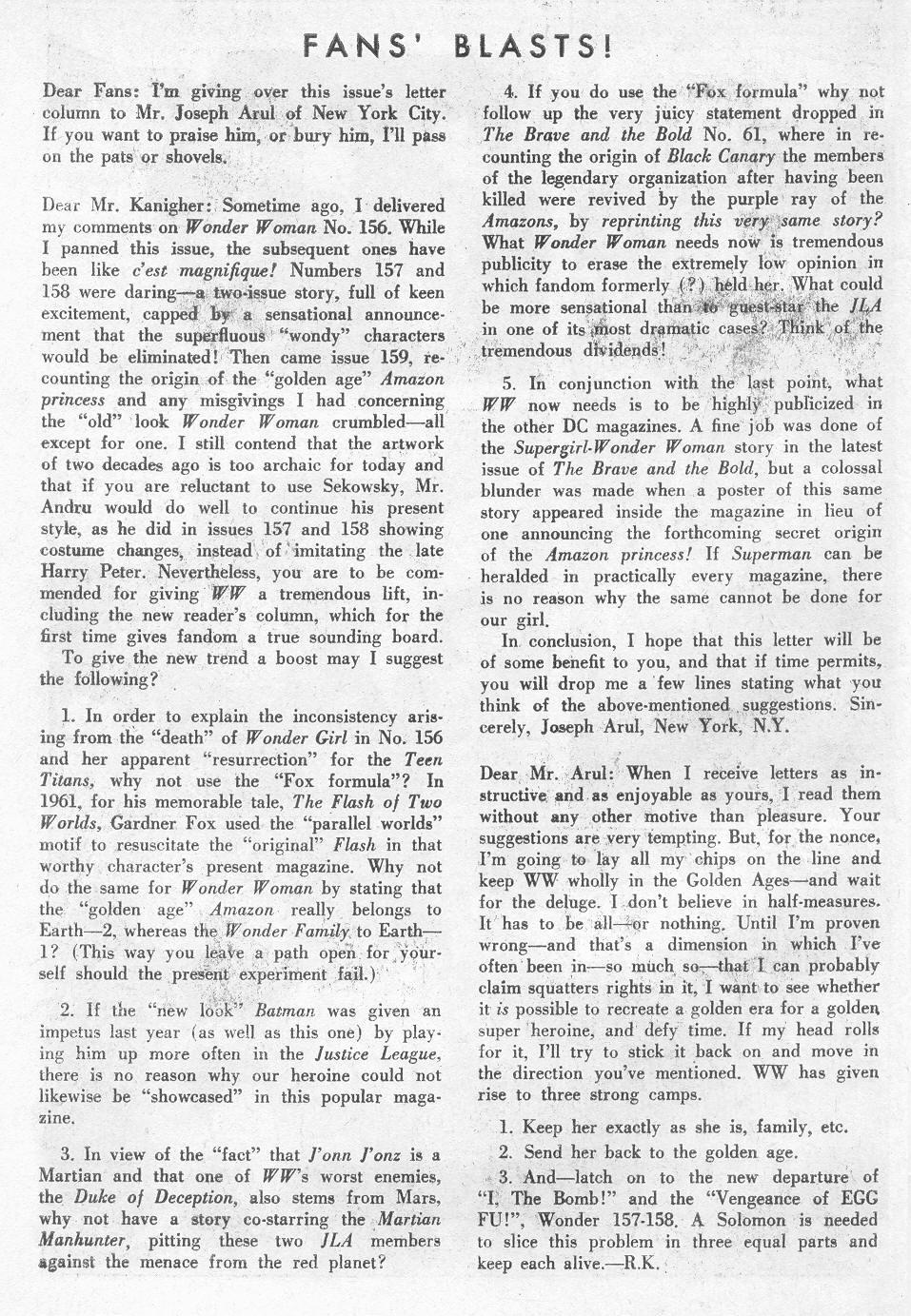 Read online Wonder Woman (1942) comic -  Issue #162 - 34