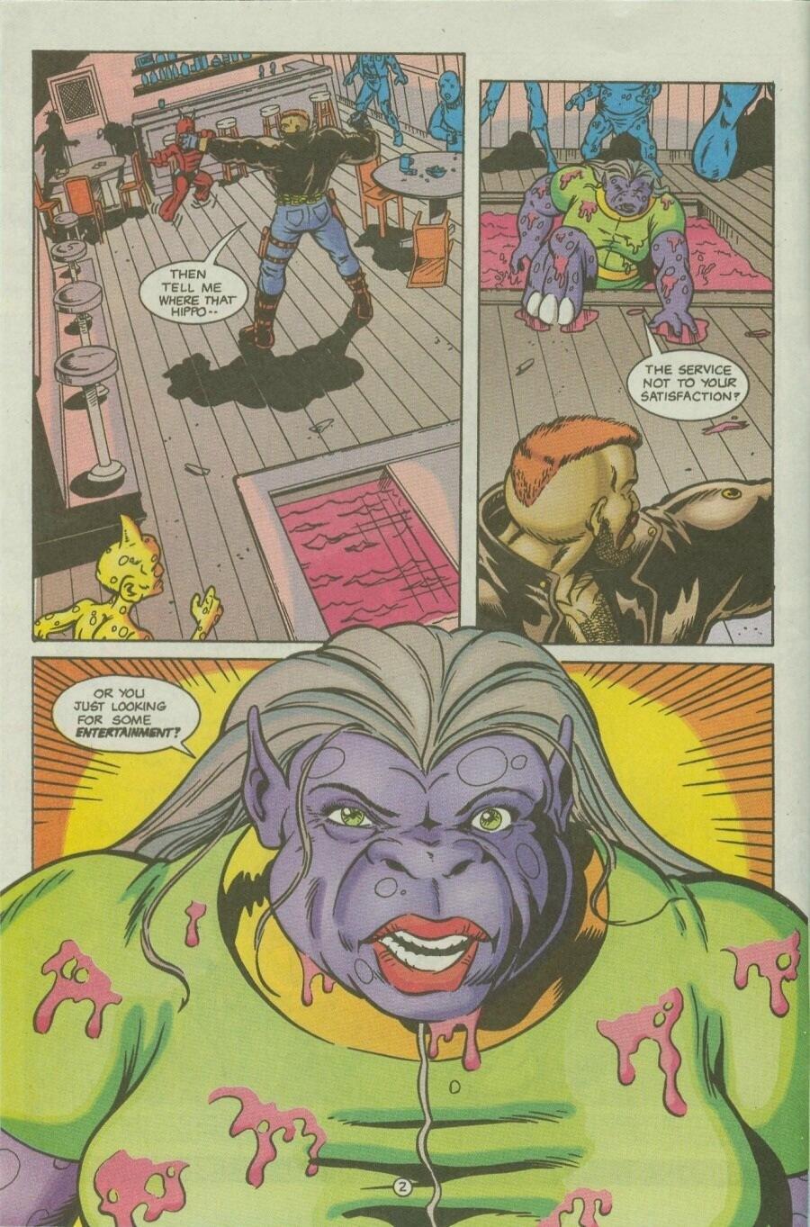 Read online Ex-Mutants comic -  Issue #10 - 4